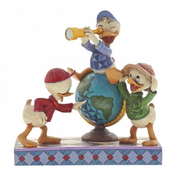 Sammelfigur Disney Duck Tales, Navigating Nephews