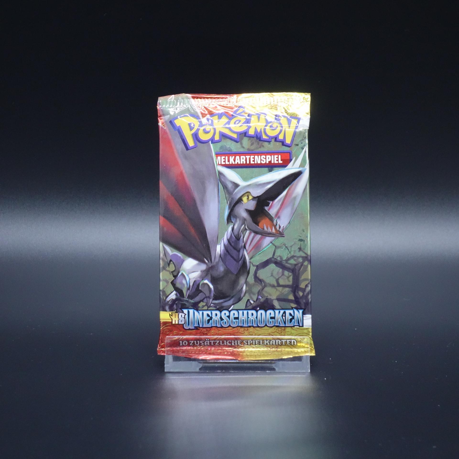Pokemon Booster HS Unerschrocken Sammelkartenspiel 2