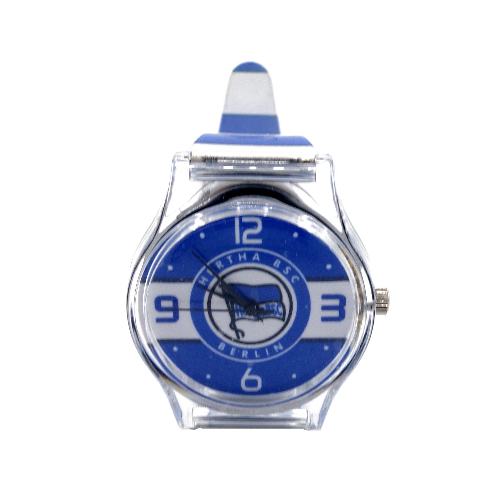 Hertha BSC Armbanduhr Blau Weiß