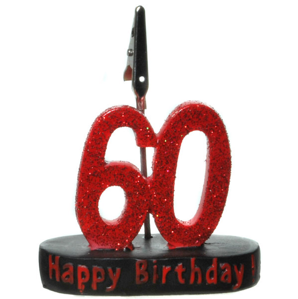 "Geburtstagsgeschenk Clip ""60"" Geldgeschenk"