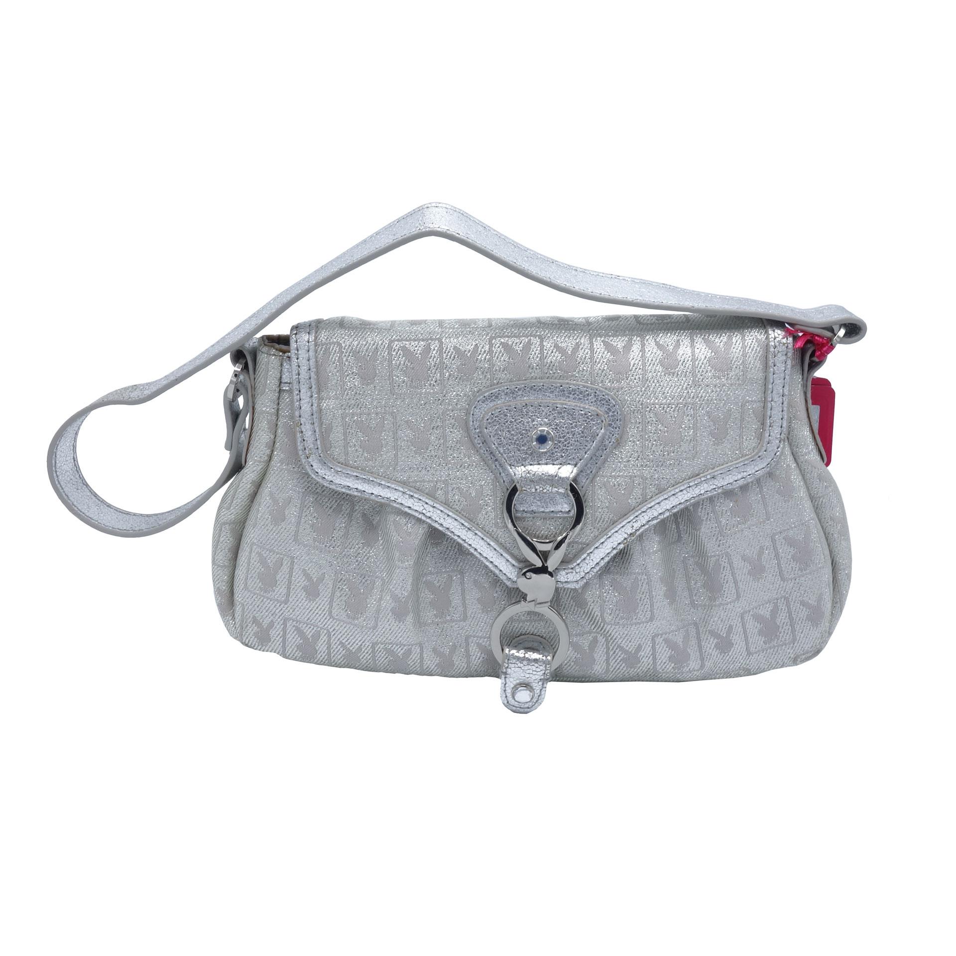 Playboy Damen Handtasche Silver