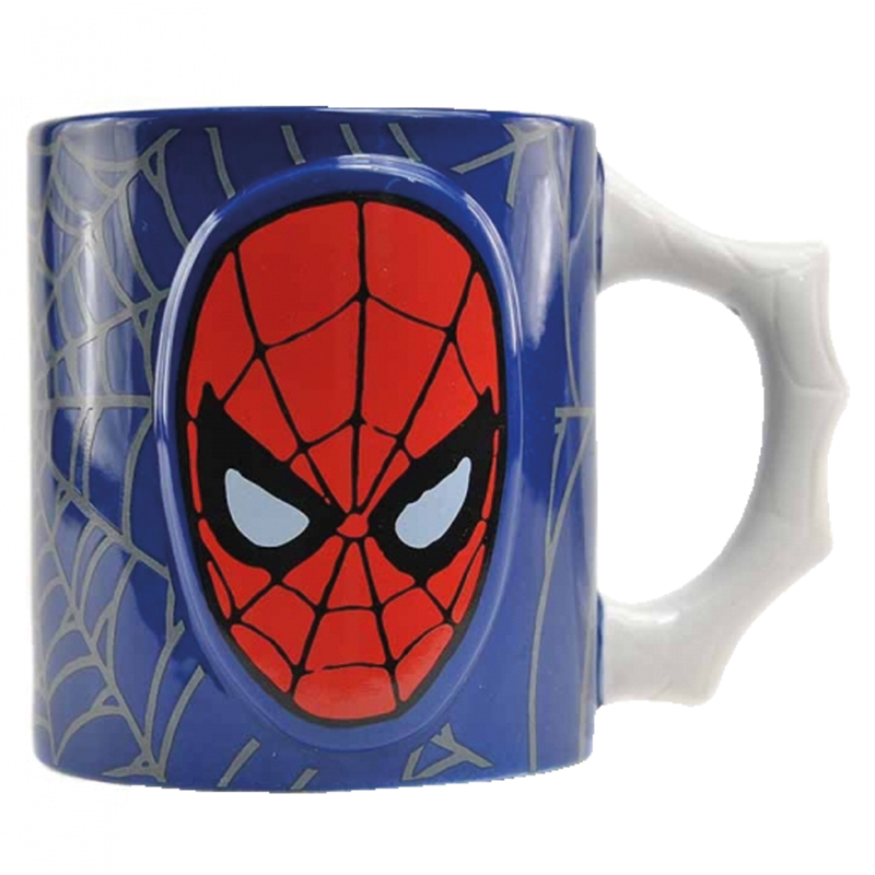 Spiderman 3D Tasse Embossed Mug