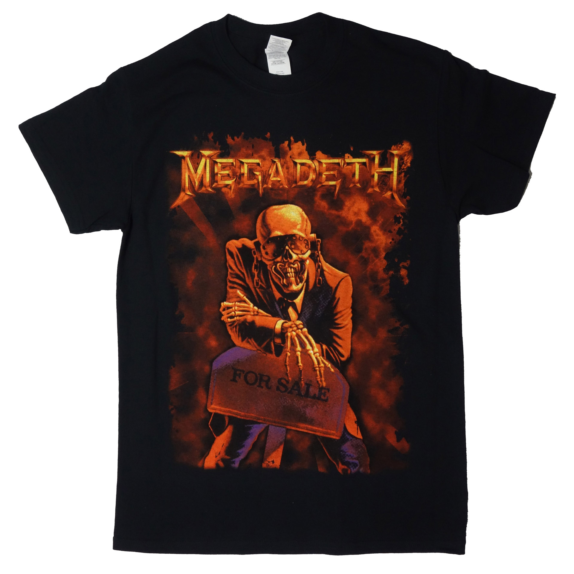 T-Shirt Megadeth Peace Sells