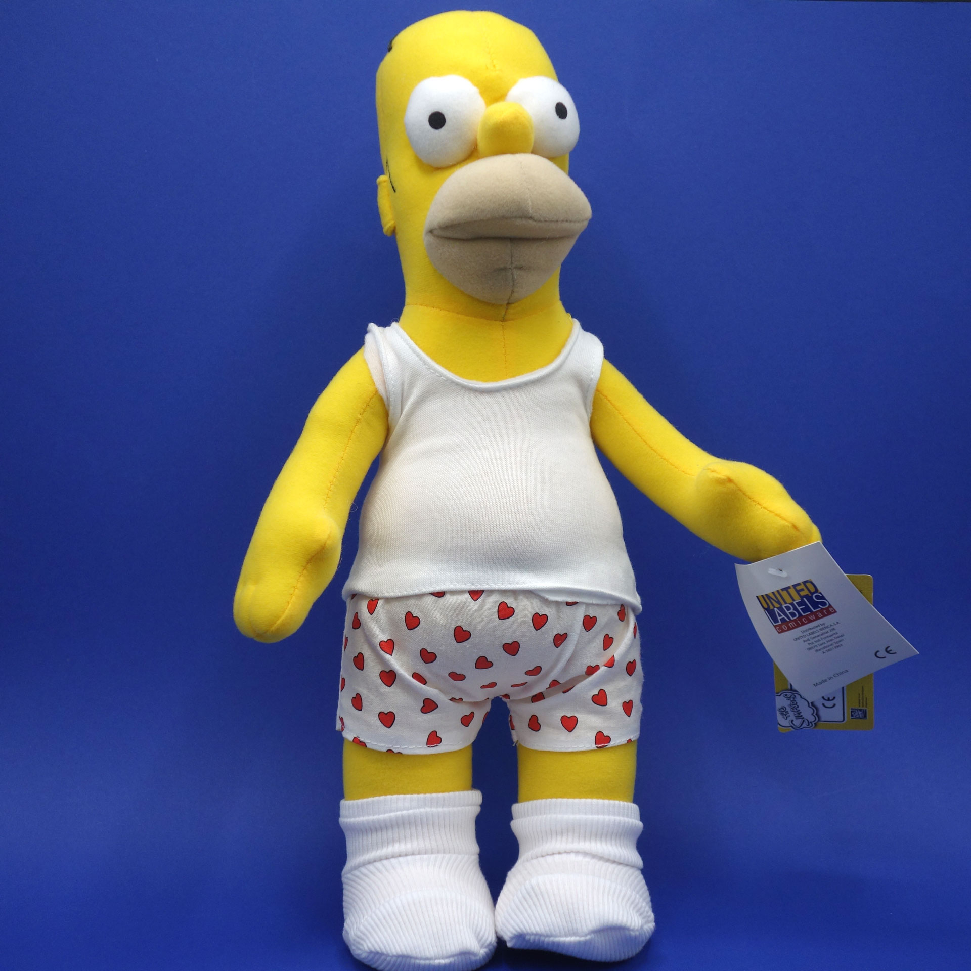 Homer Simpson Plüsch Figur The Simpsons