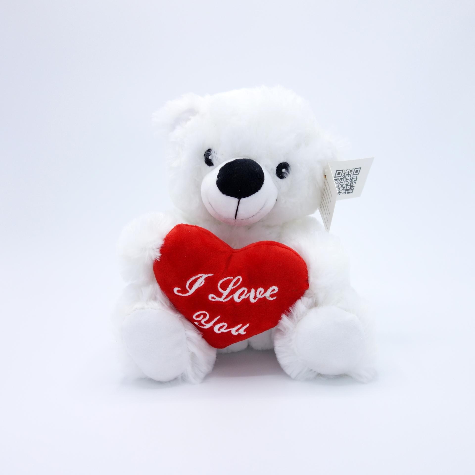 Plüsch Bär Teddy Mit Herz I Love You