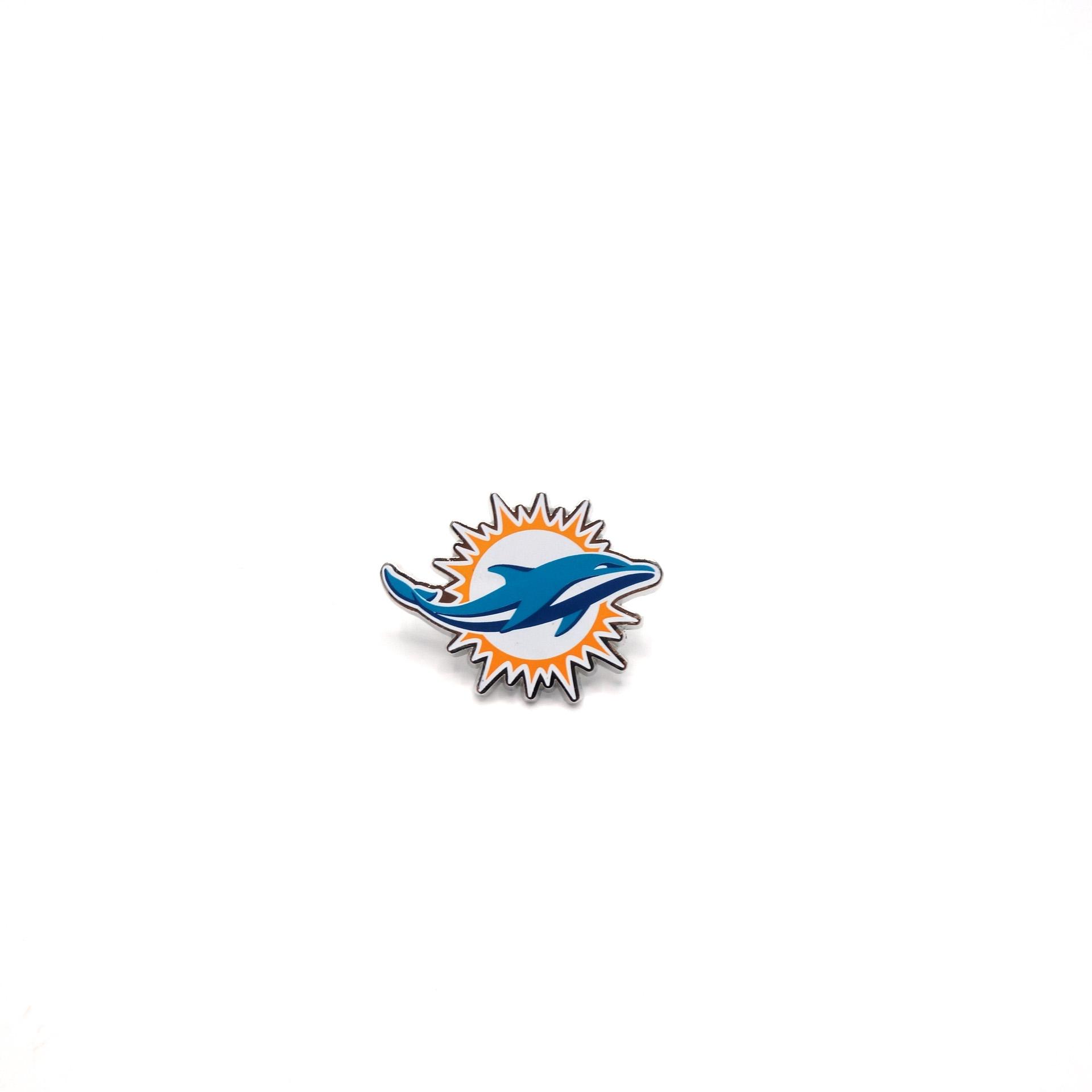 NFL Miami Dolphins Pin Logo