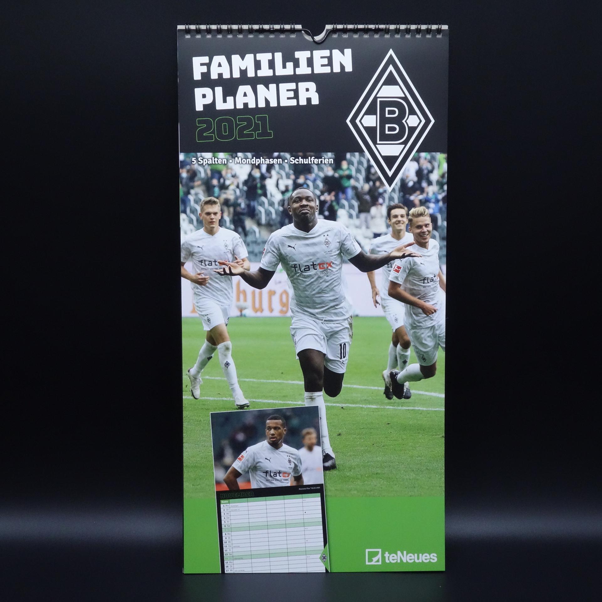 Borussia Mönchengladbach Familien Planer 2021