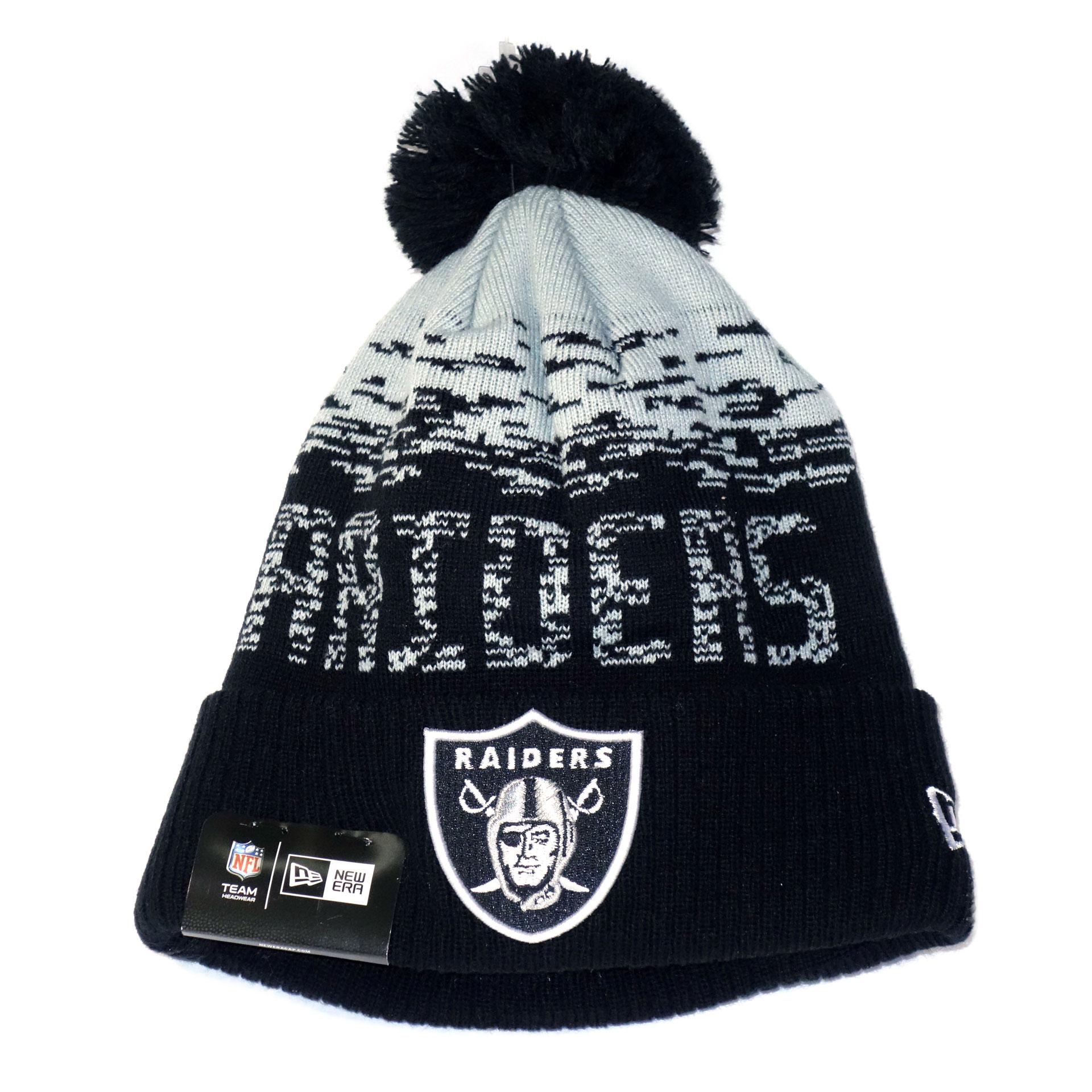 NFL Beanie Strickmütze Las Vegas Raiders