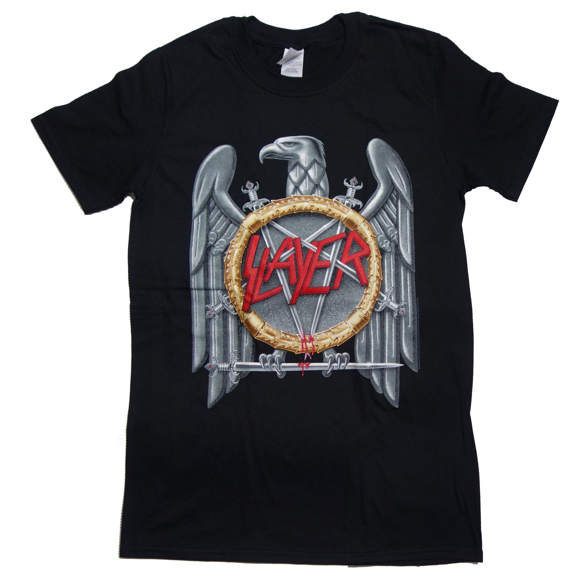 T-Shirt Slayer Silver Eagle