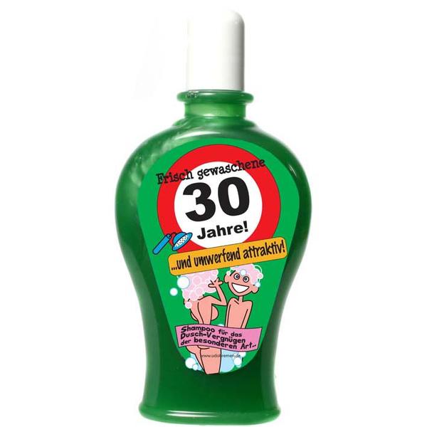 """Geburtstagsgeschenk Shampoo """"30"""" Spaßartikel"""