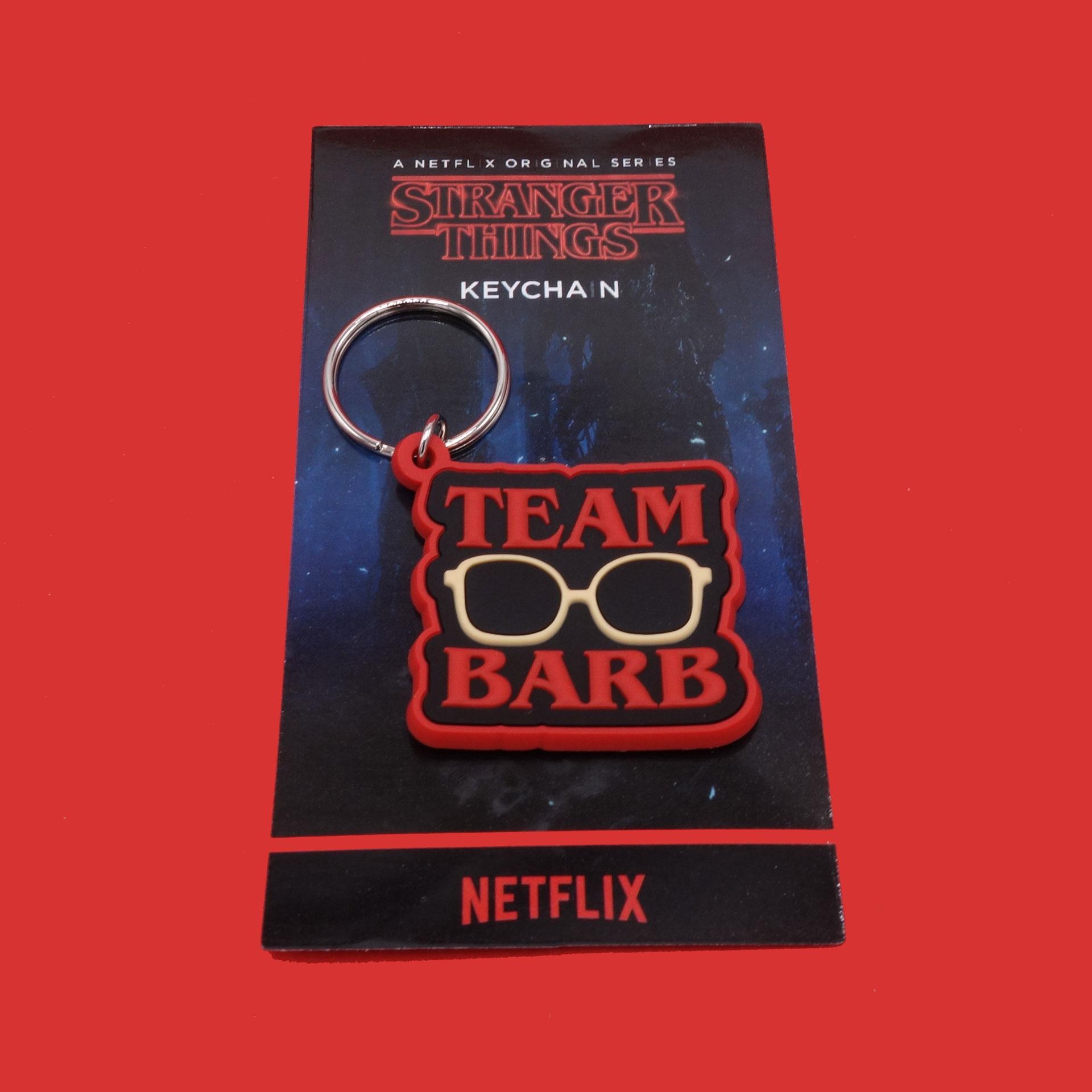 Stranger Things Schlüsselanhänger Team Barb