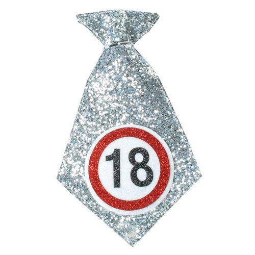 """Geburtstagsgeschenk Mini-Krawatte """"18"""" Spaßgeschenk"""