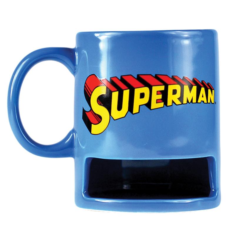Superman Keks-Tasse Cookie Mug