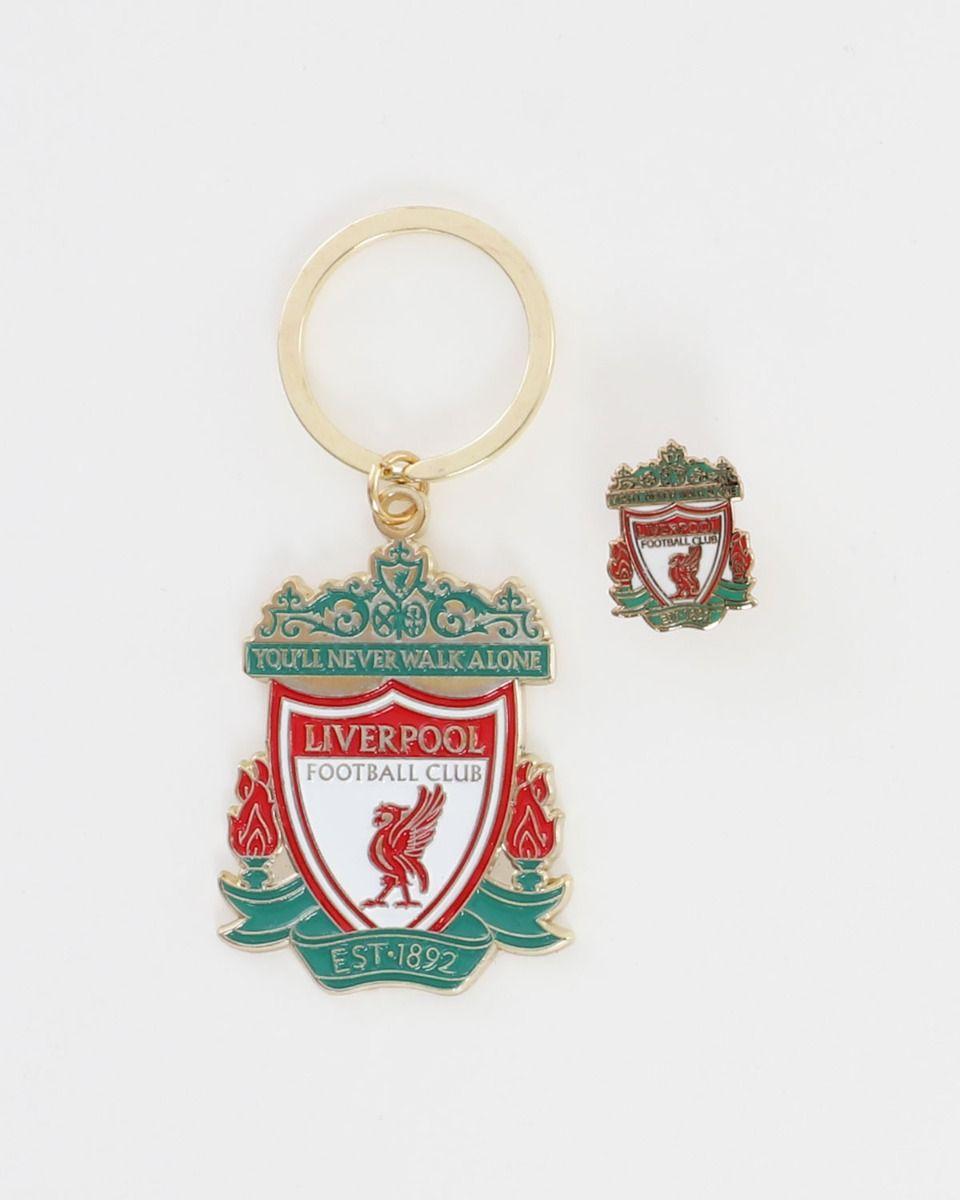 Liverpool FC Schlüsselanhänger Pin Set