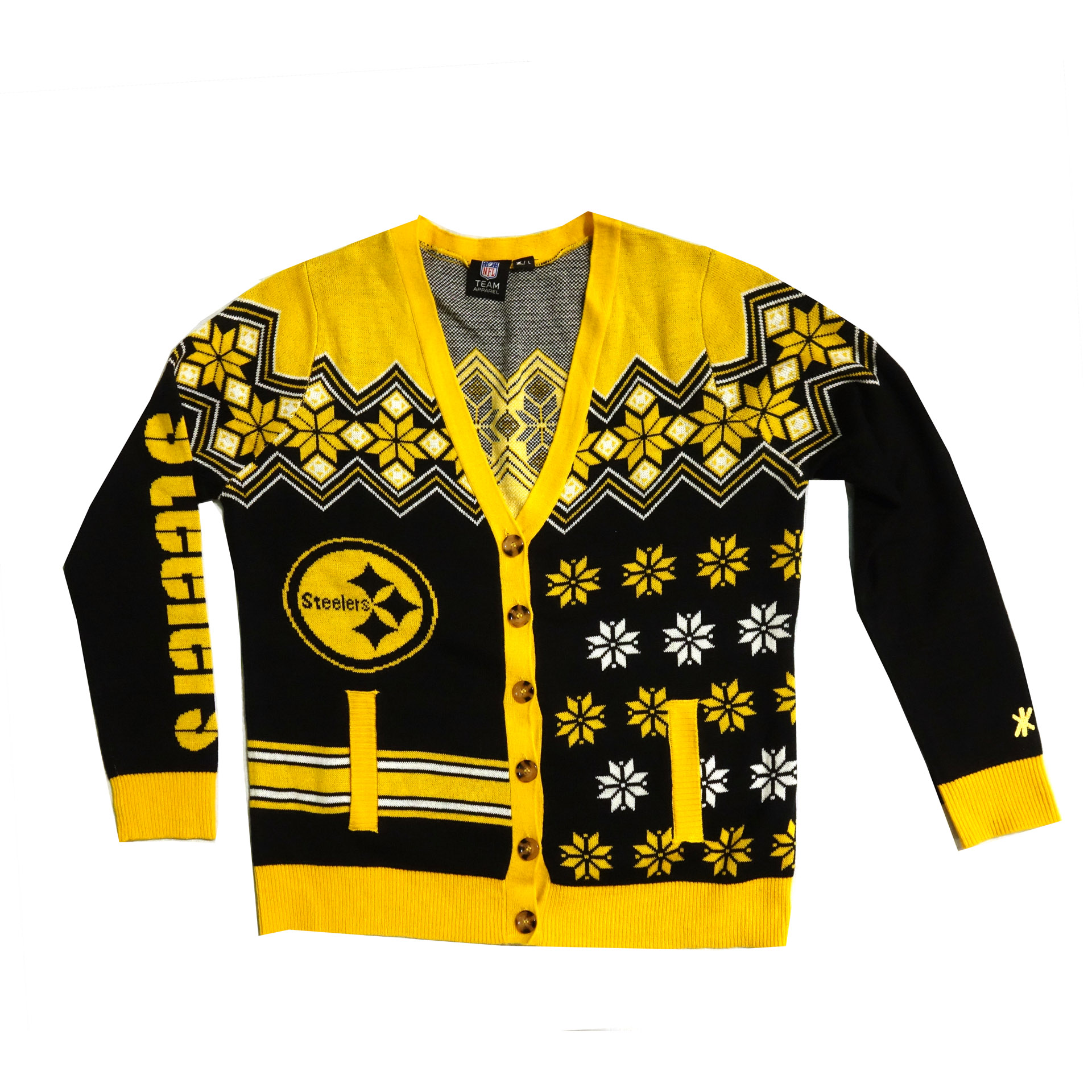 NFL Strickveste Pittsburgh Steelers Ugly Sweater