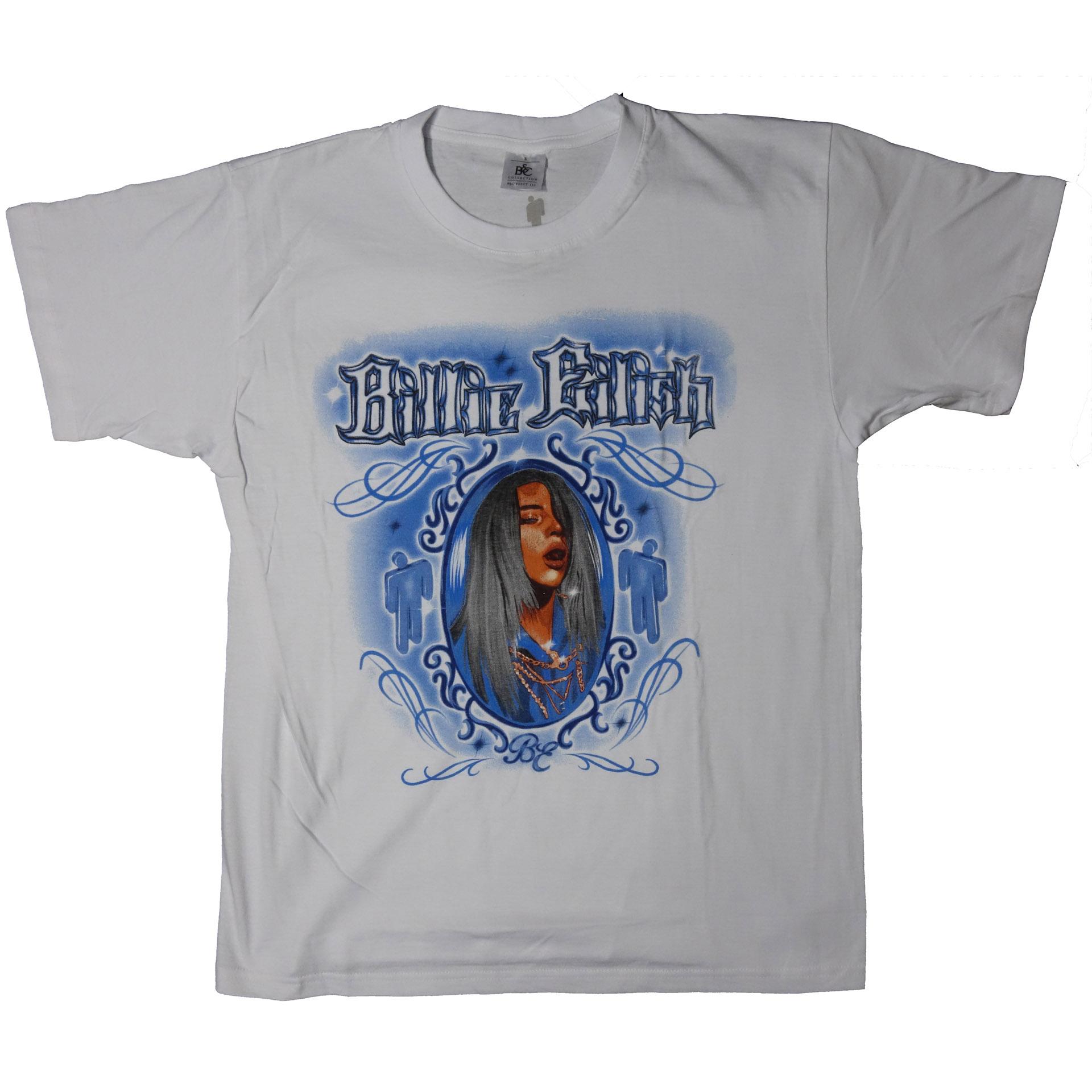 T-Shirt Billie Eilish Airbrush Photo