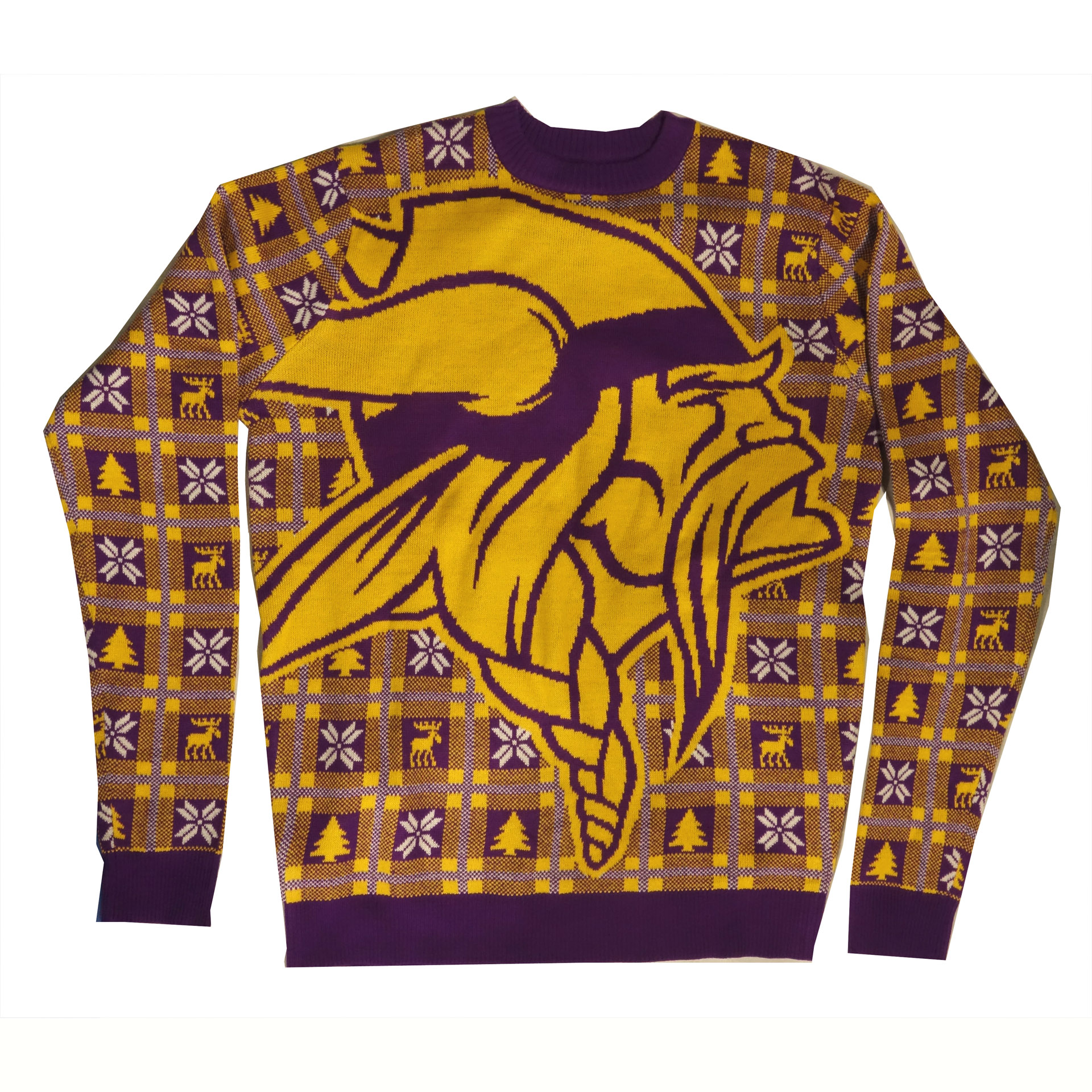 NFL Pullover Christmas Minnesota Vikings Ugly Sweater