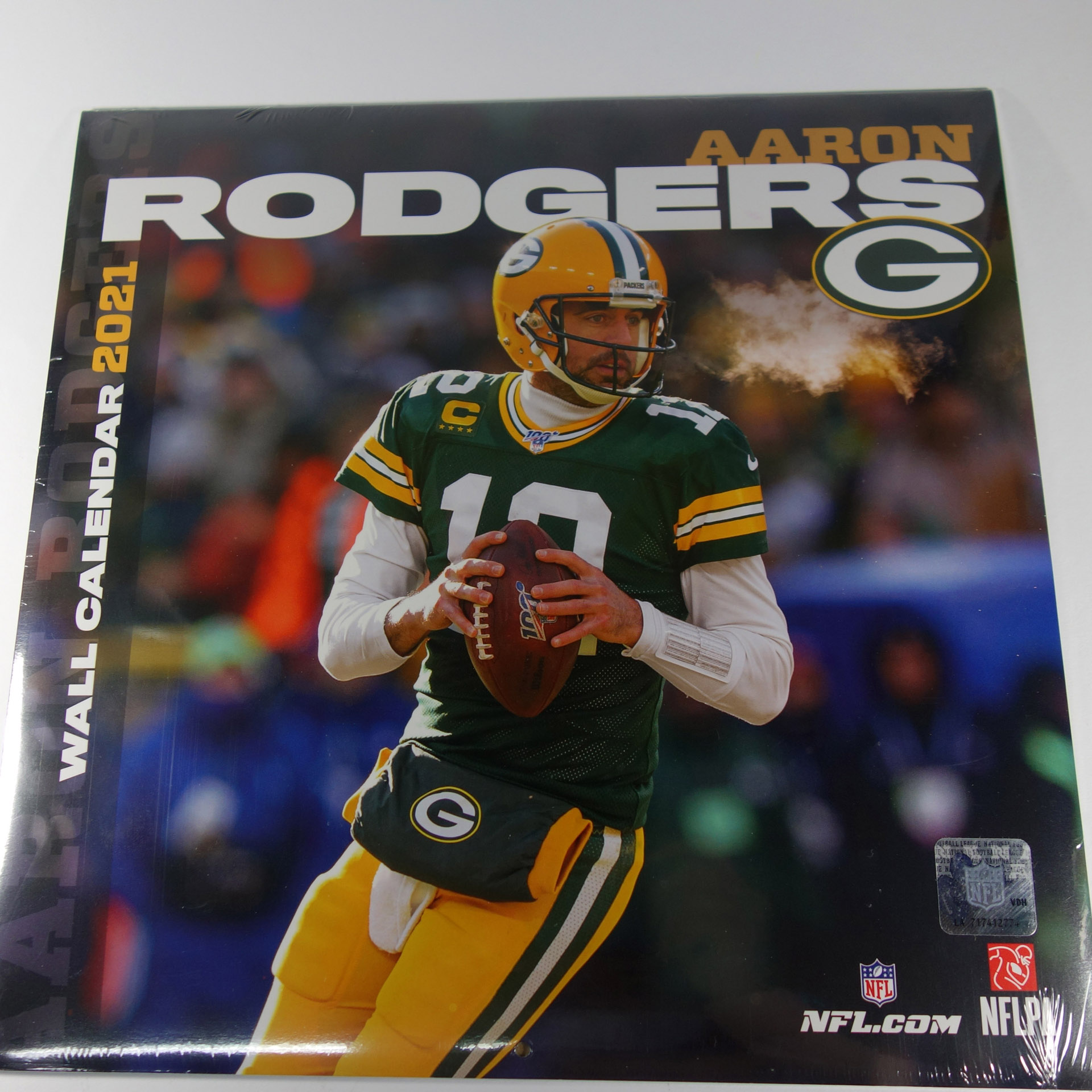 NFL Wandkalender Aaron Rodgers Green Bay Packers 2021