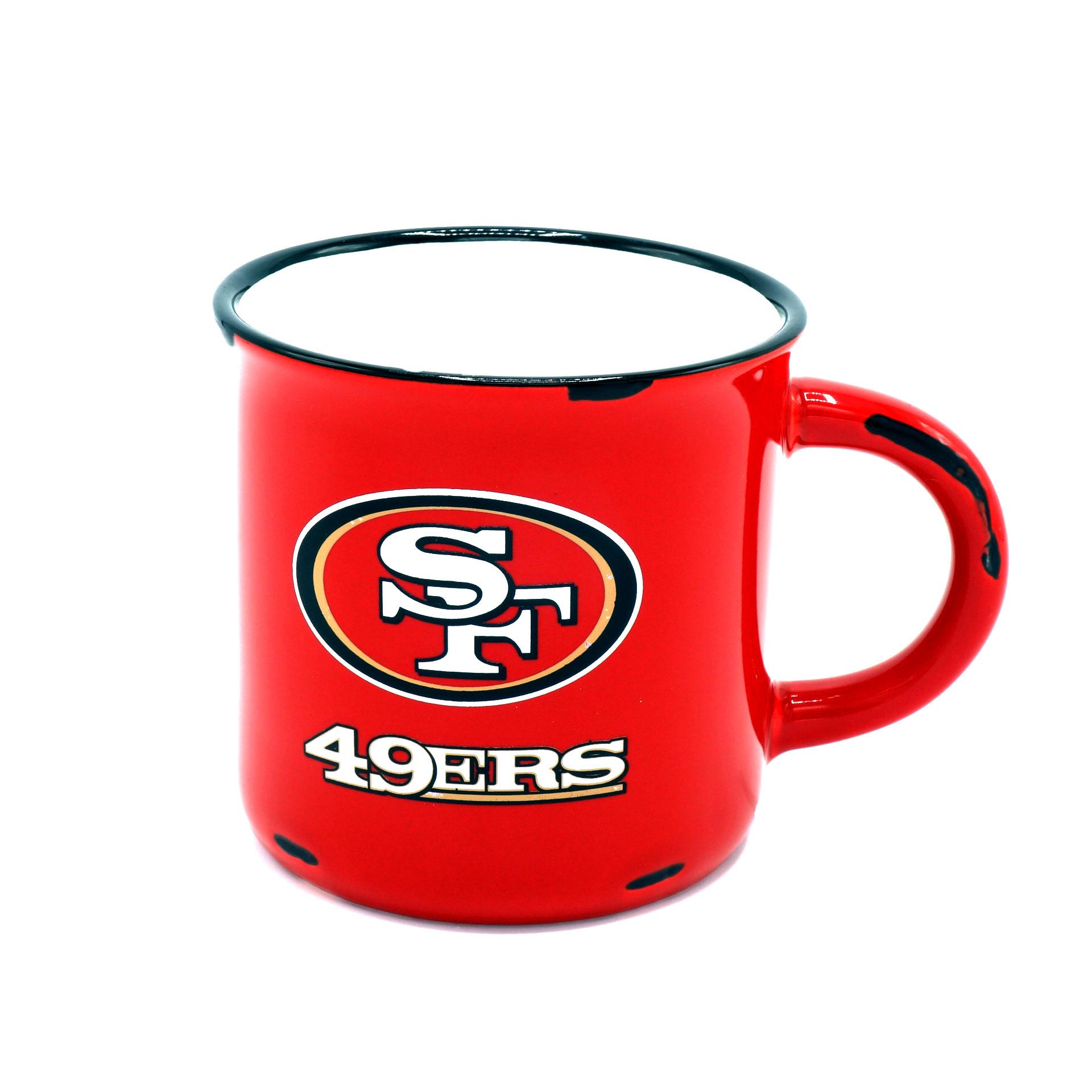 """NFL Tasse San Francisco 49ers Vintage Emaille Optik"""""""