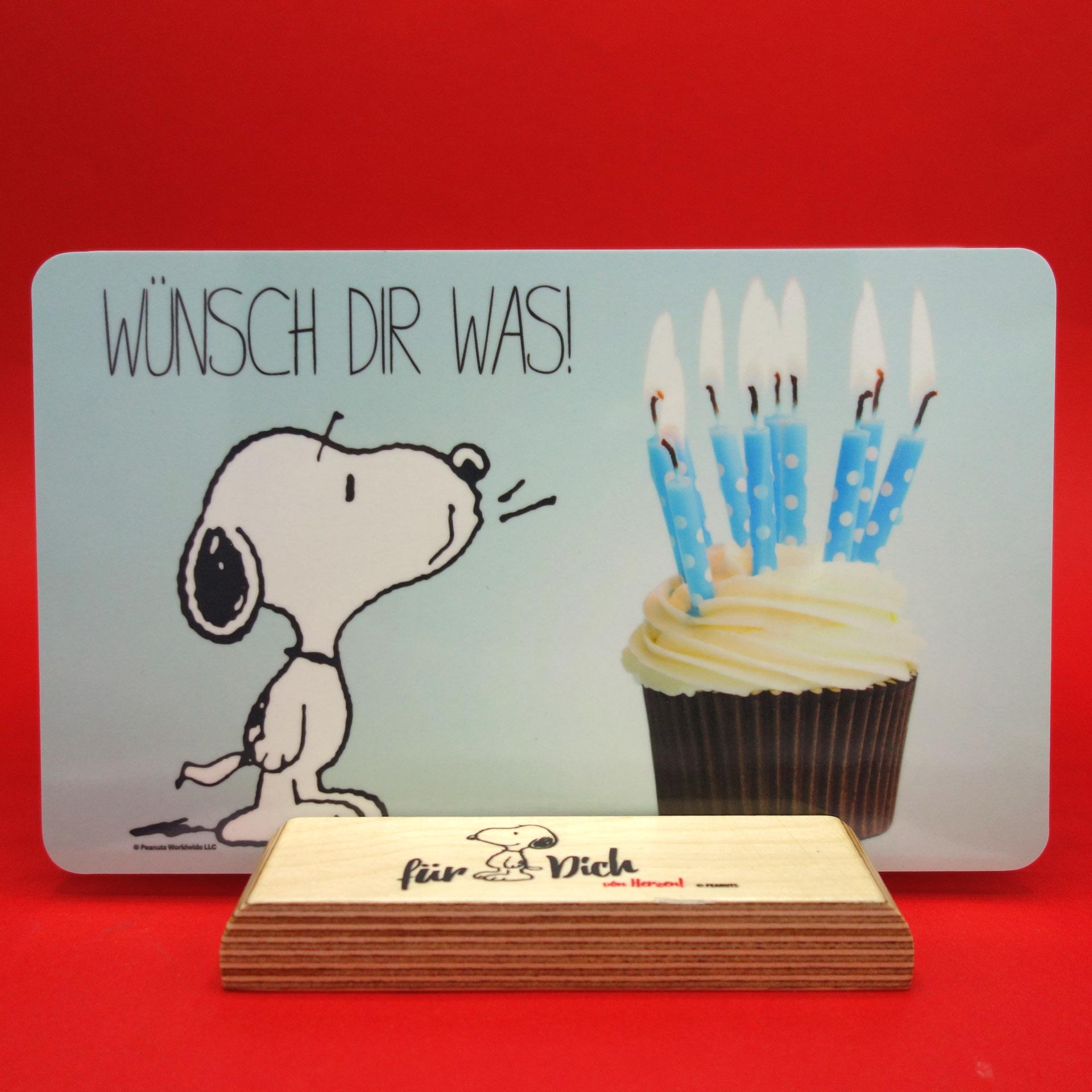 Snoopy Peanuts Frühstücksbrettchen Wünsch Dir Was!