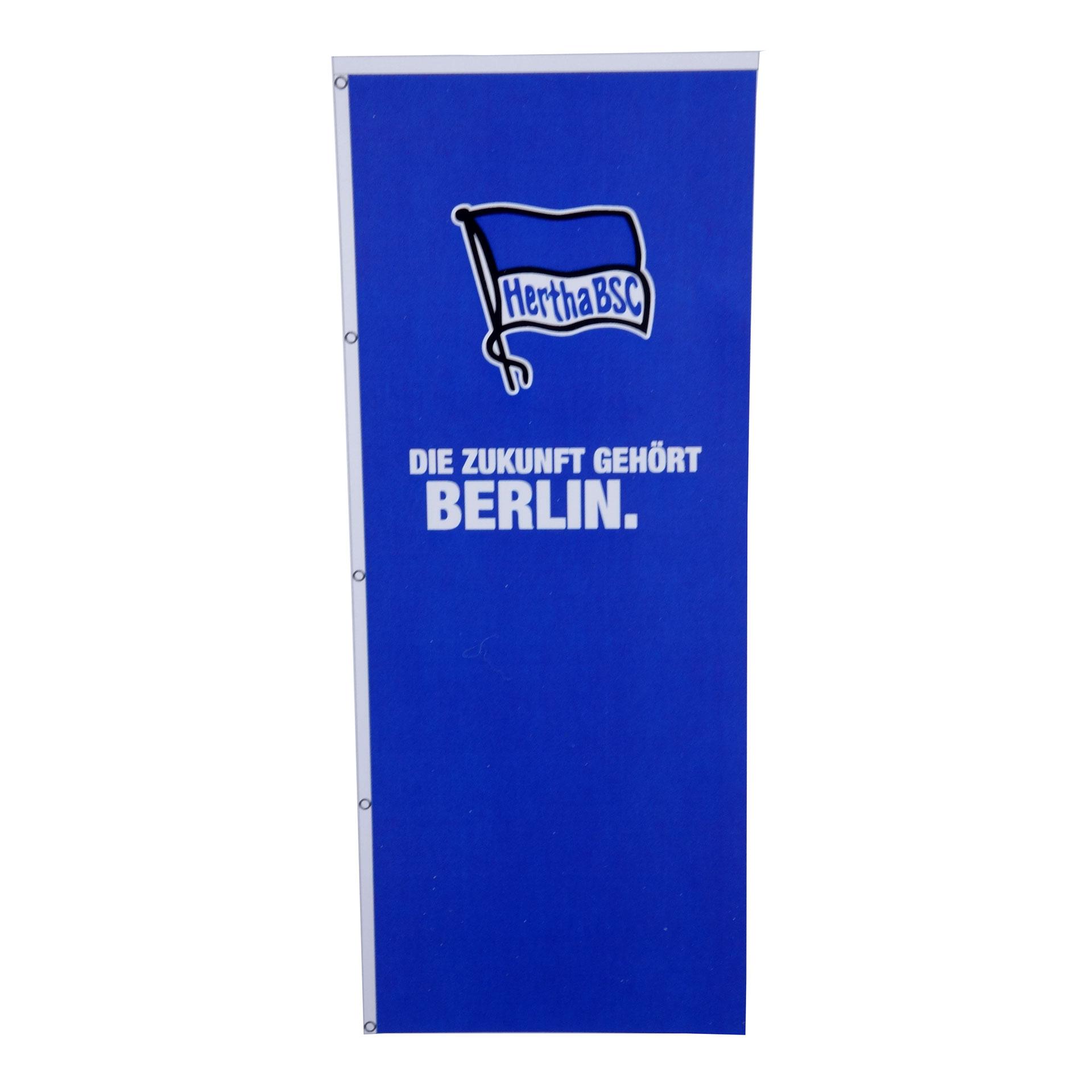 Hertha BSC  Hissfahne 120 x 300 cm