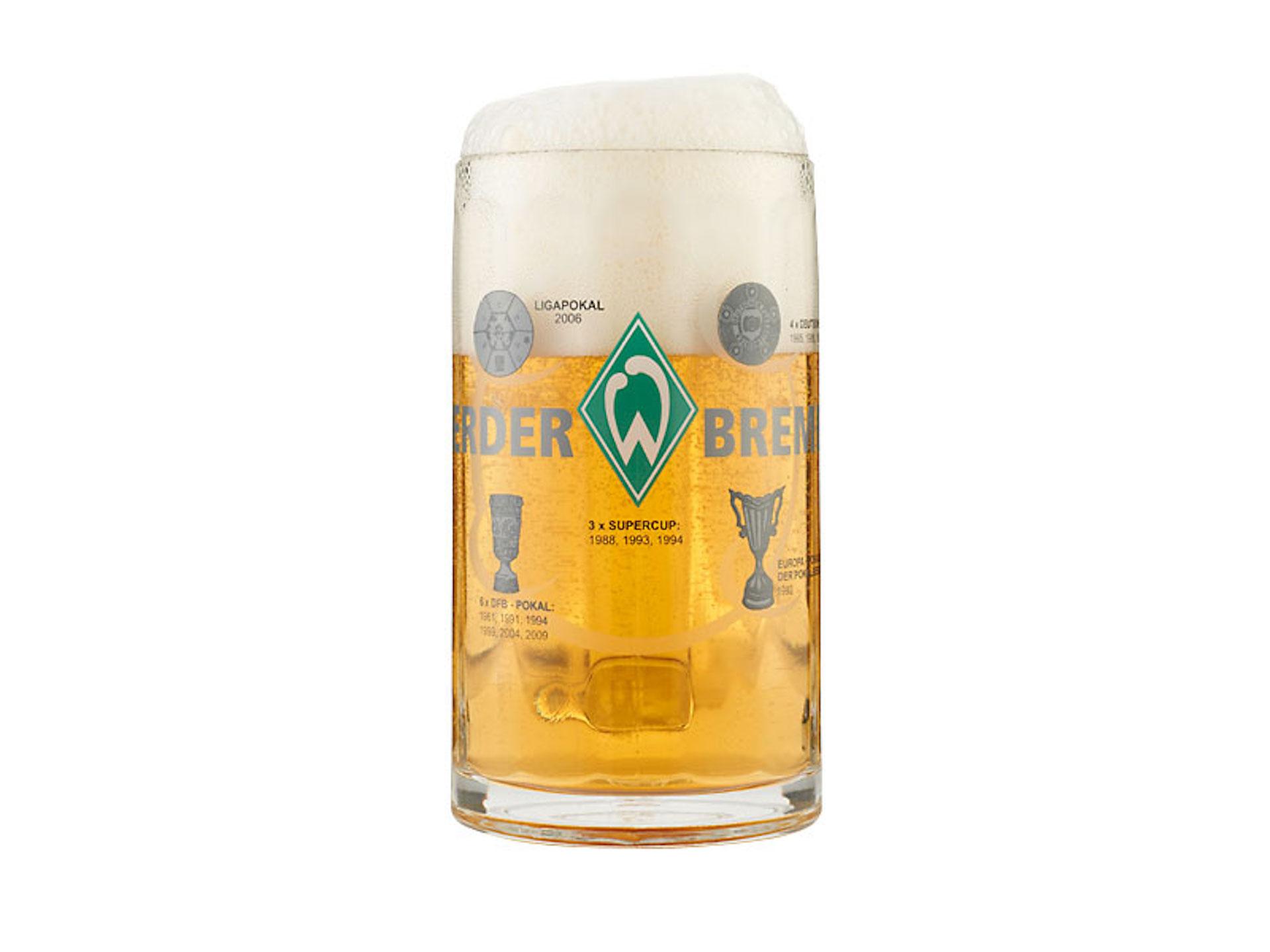 Werder Bremen Bierkrug Erfolge