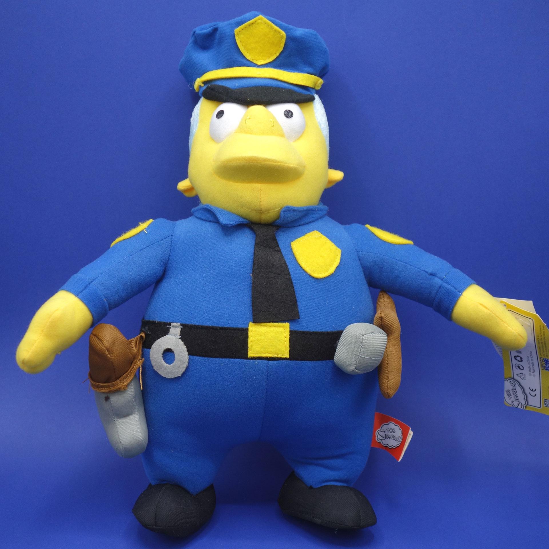 Chief Wiggum Plüsch Figur The Simpsons