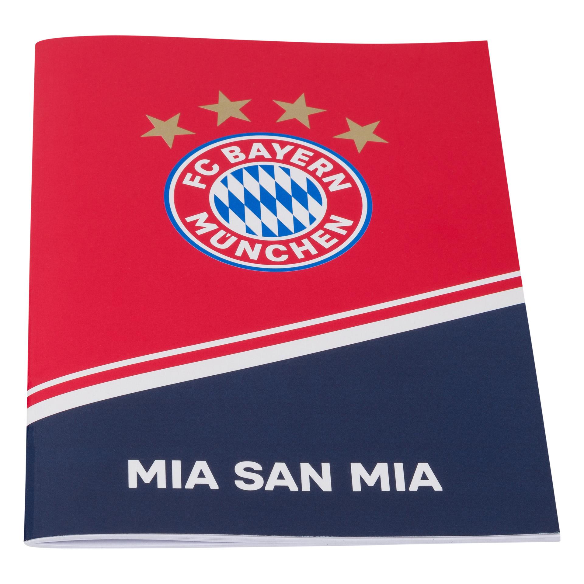 FC Bayern Hausaufgabenheft