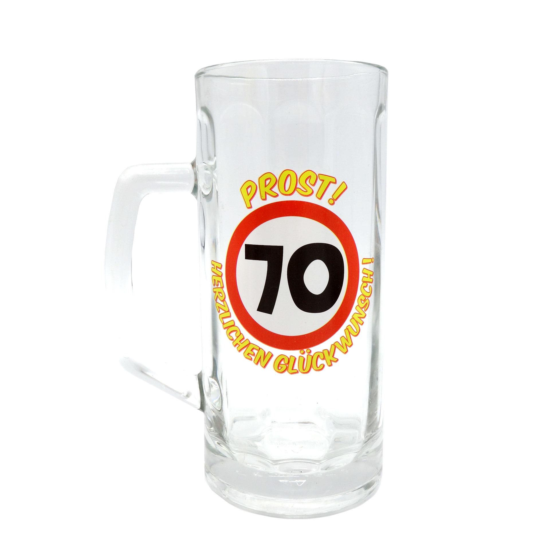Geburtstags Bierseidel 70 Bierkrug