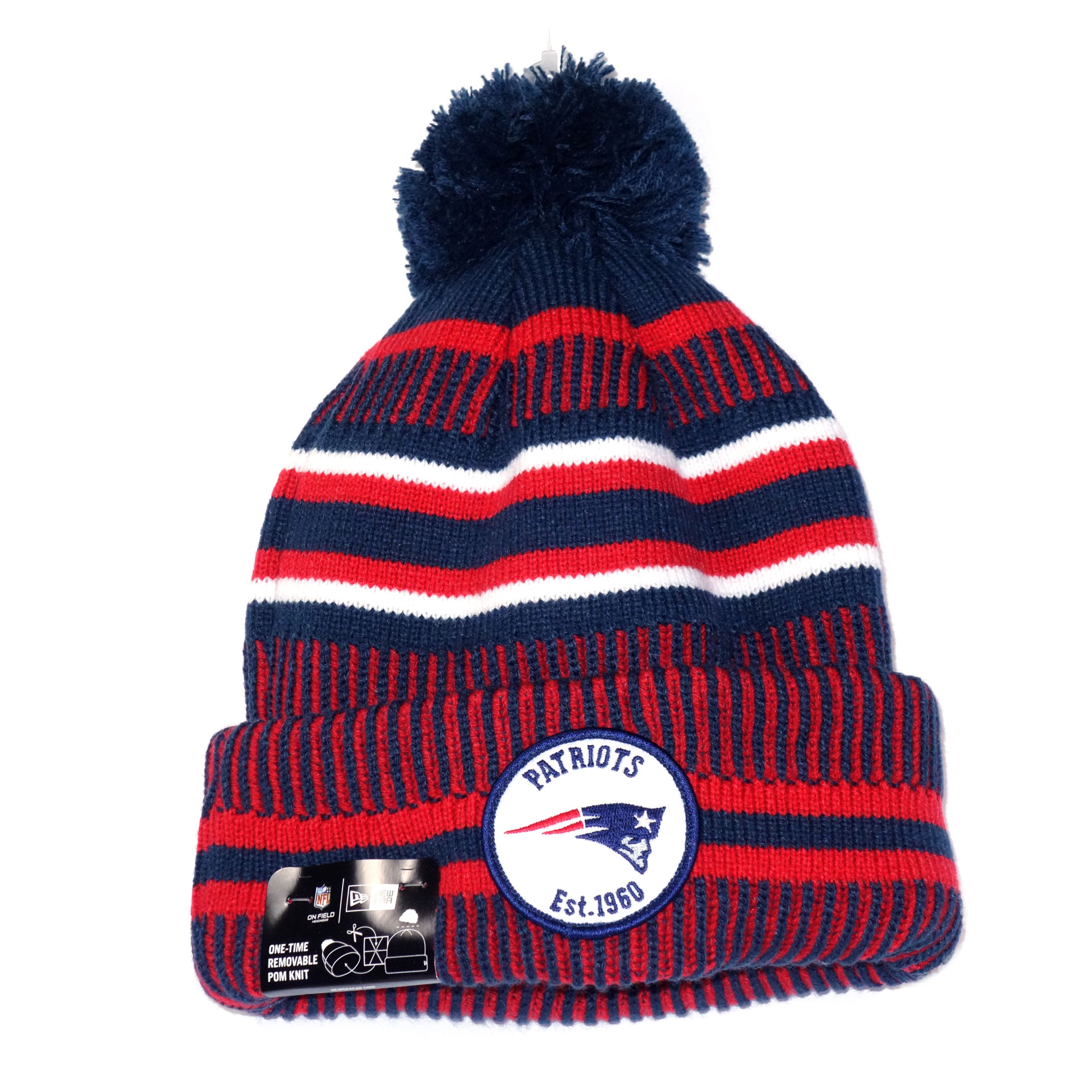NFL Beanie Strickmütze New England Patriots
