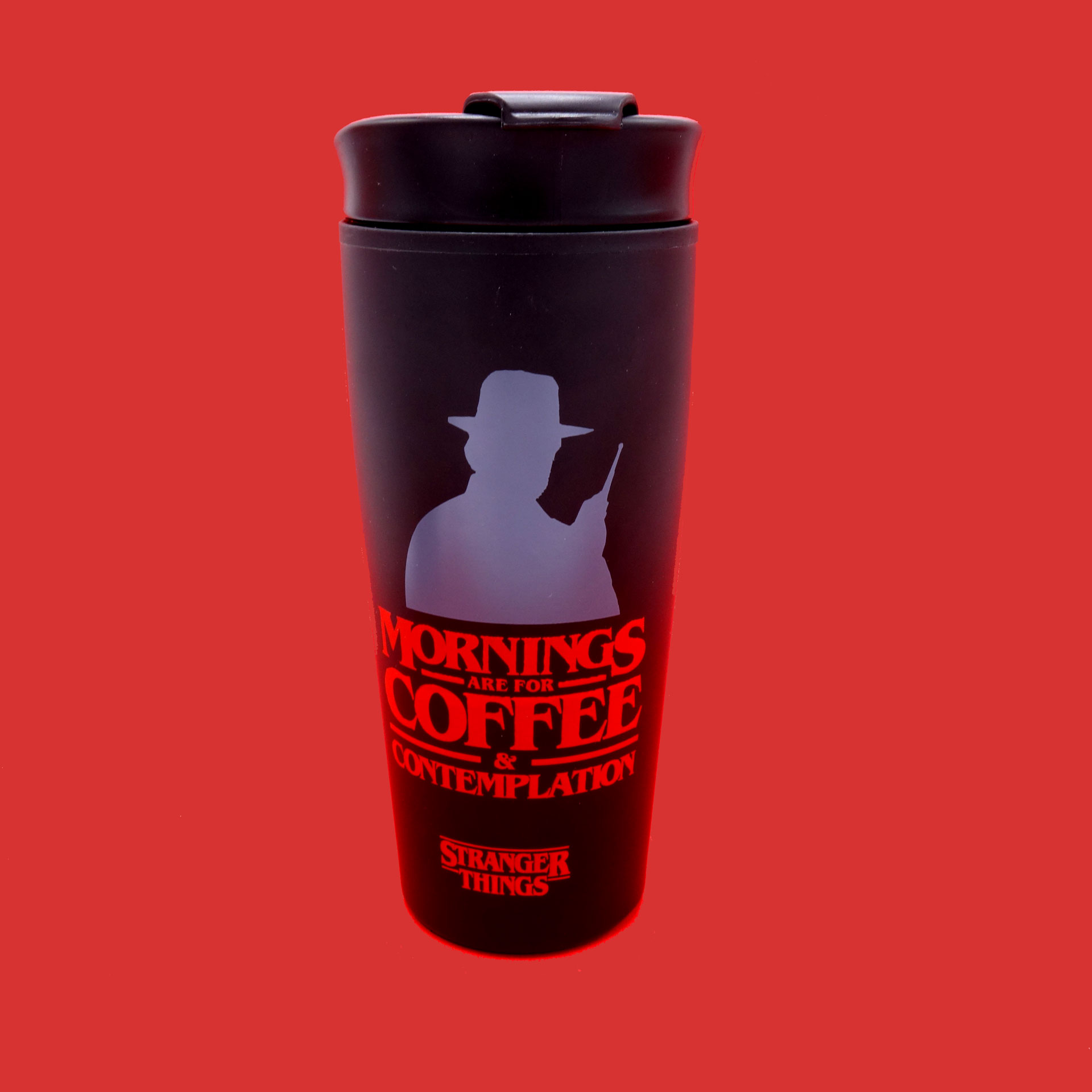 Stranger Things Coffee To Go Becher Coffee and Contemplation