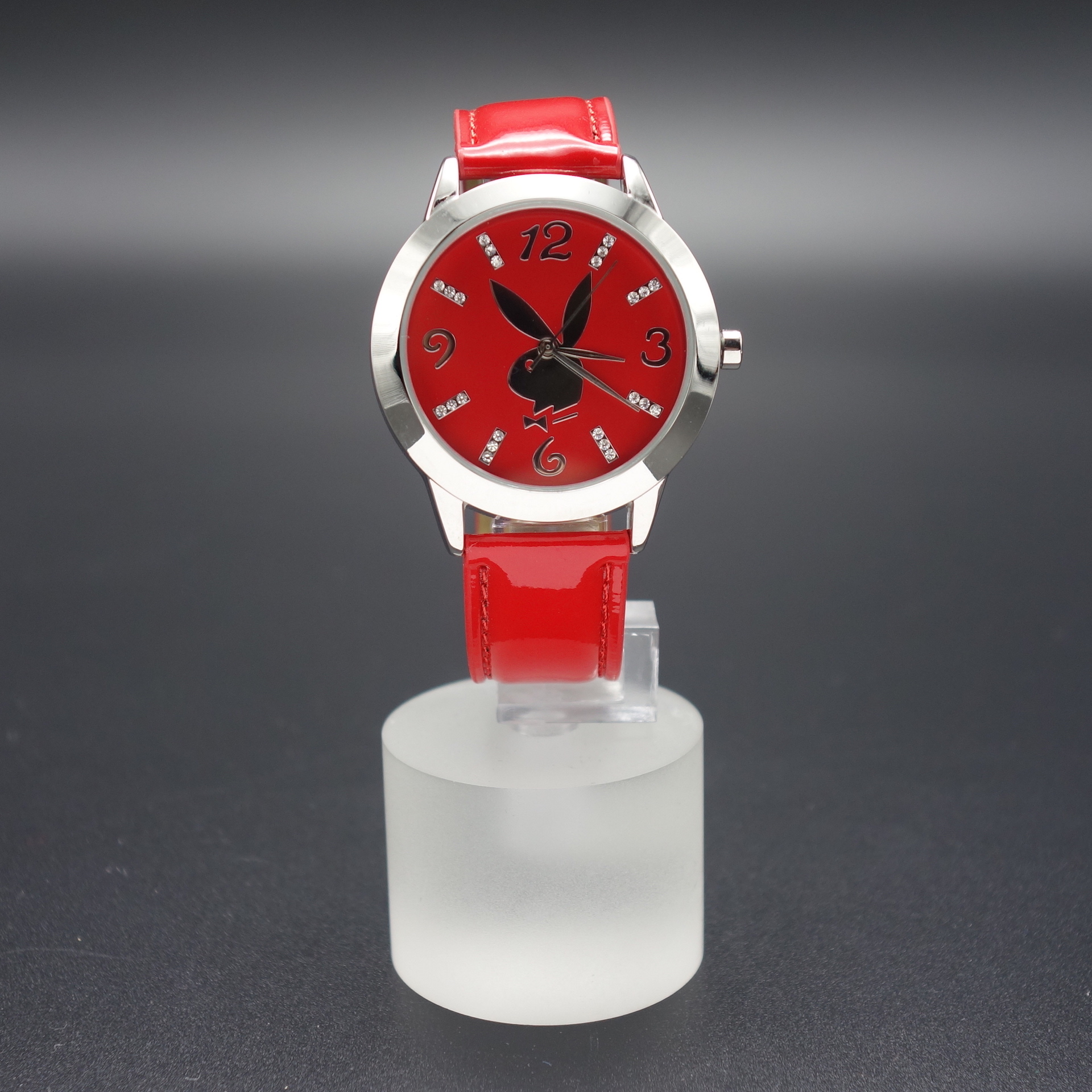 Playboy Damen Armbanduhr PBH0501RDRD Rot