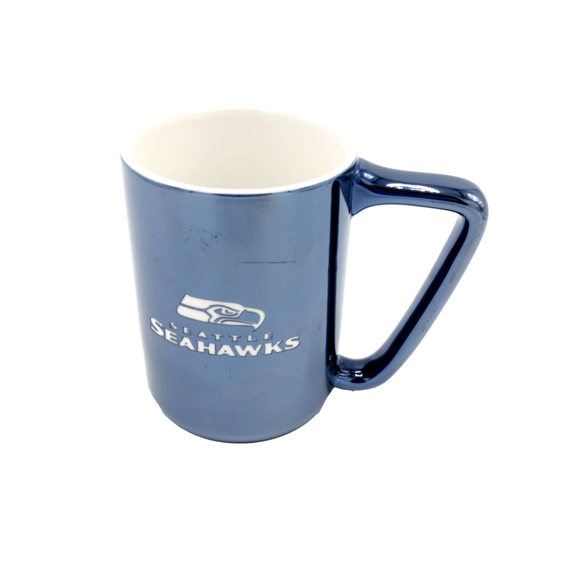 NFL Becher Seattle Seahawks Metallic