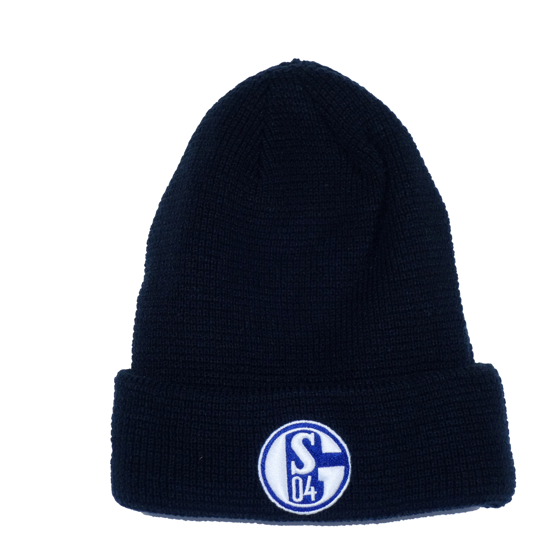 Schalke 04 Wintermütze New Era Logo Patch