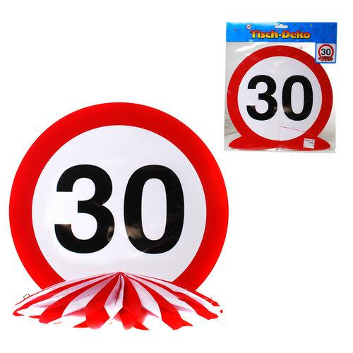 """Geburtstagsdekoration Tisch-Deko """"30"""""""
