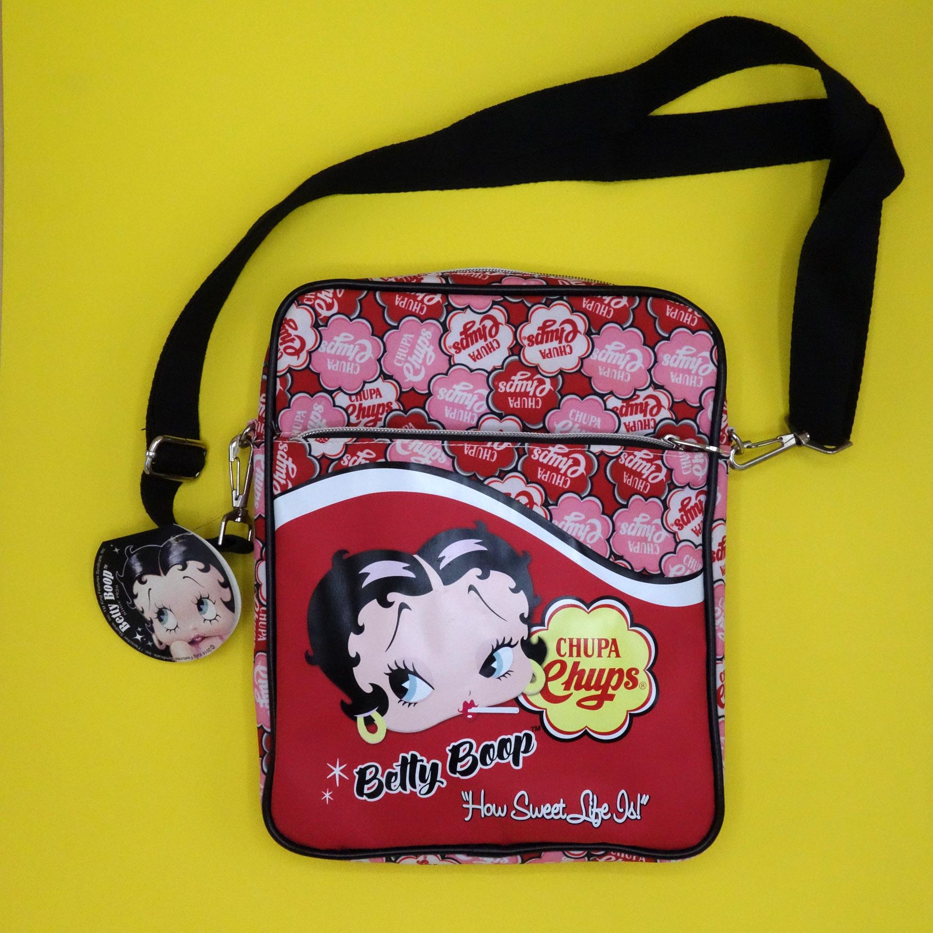 Betty Boop Tasche Chupa Chups Schultertasche