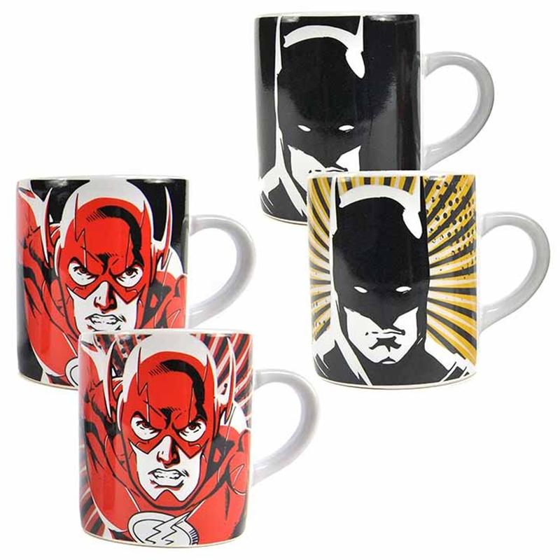 Justice League Espresso Tassen 2er-Set, Set of two heat change mini mugs