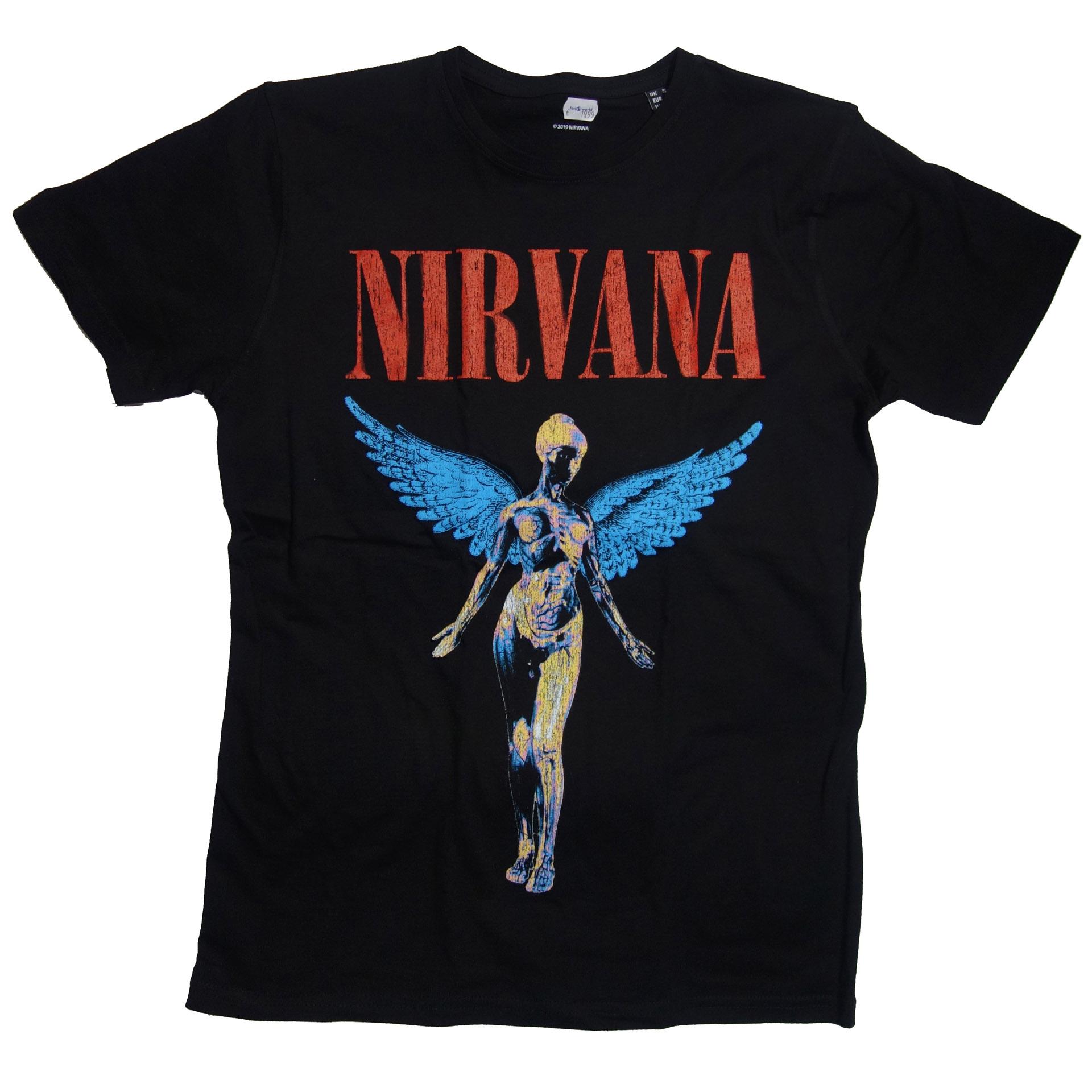 T-Shirt Nirvana Angelic