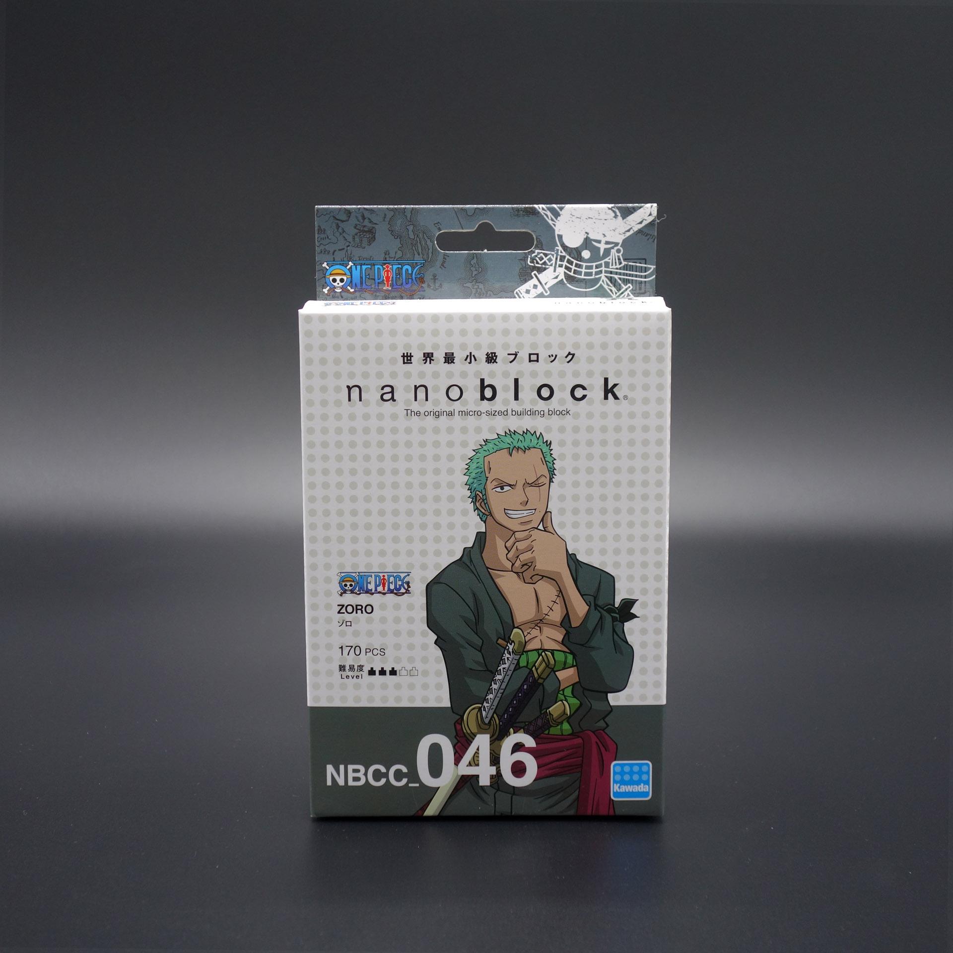 nanoblock One Piece Zoro