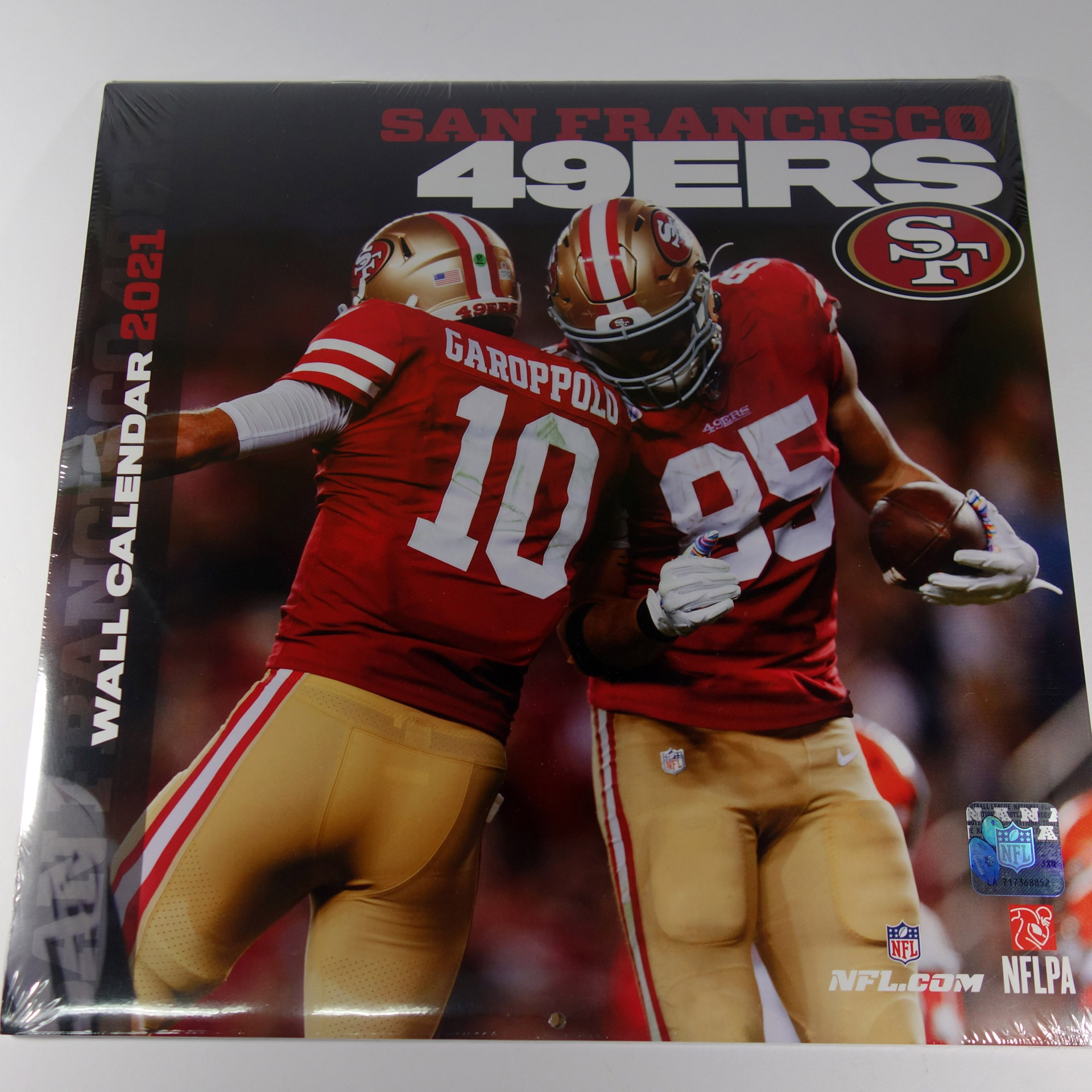 NFL Wandkalender 2021 San Francisco 49ers