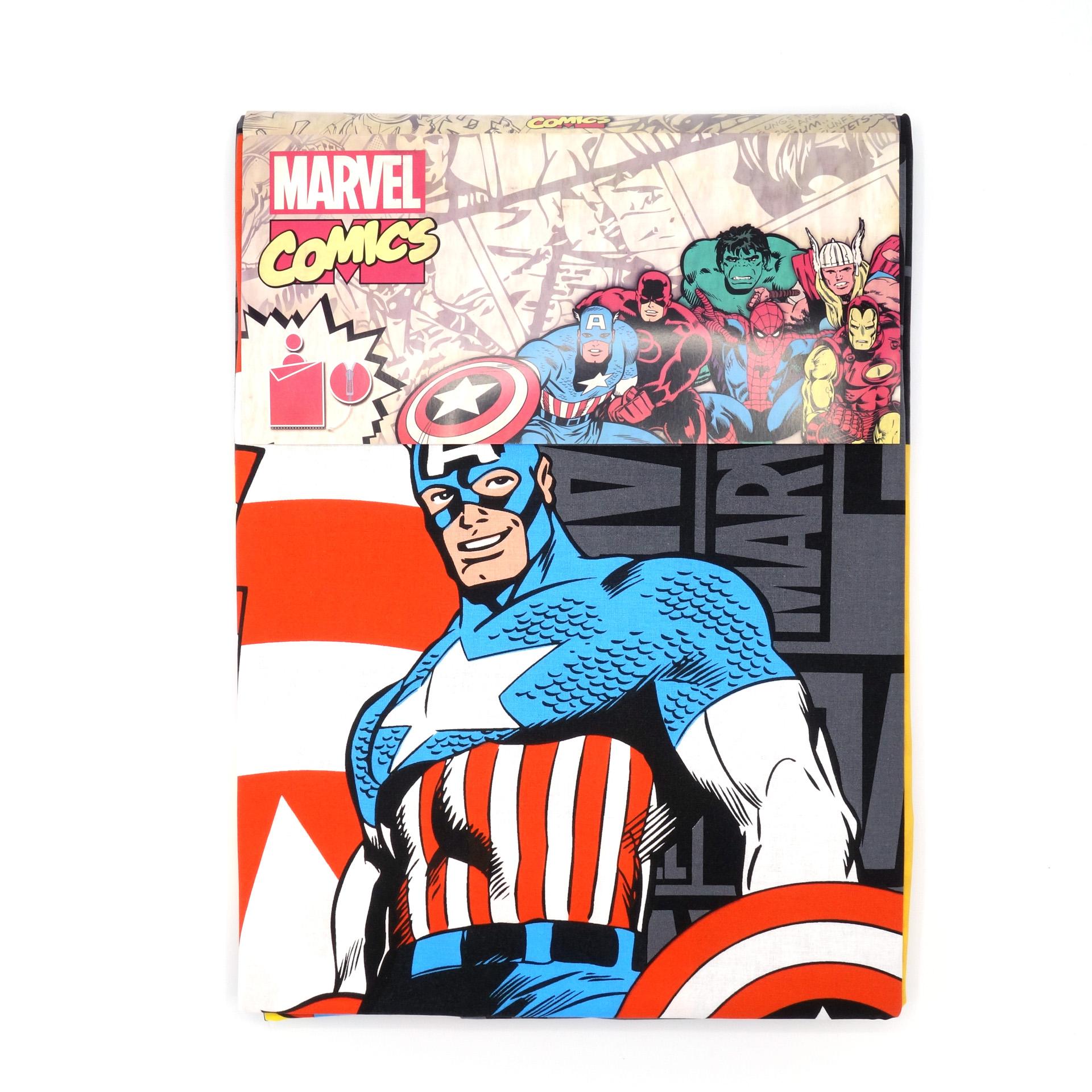 Marvel Comics Bettwäsche Comics Grey