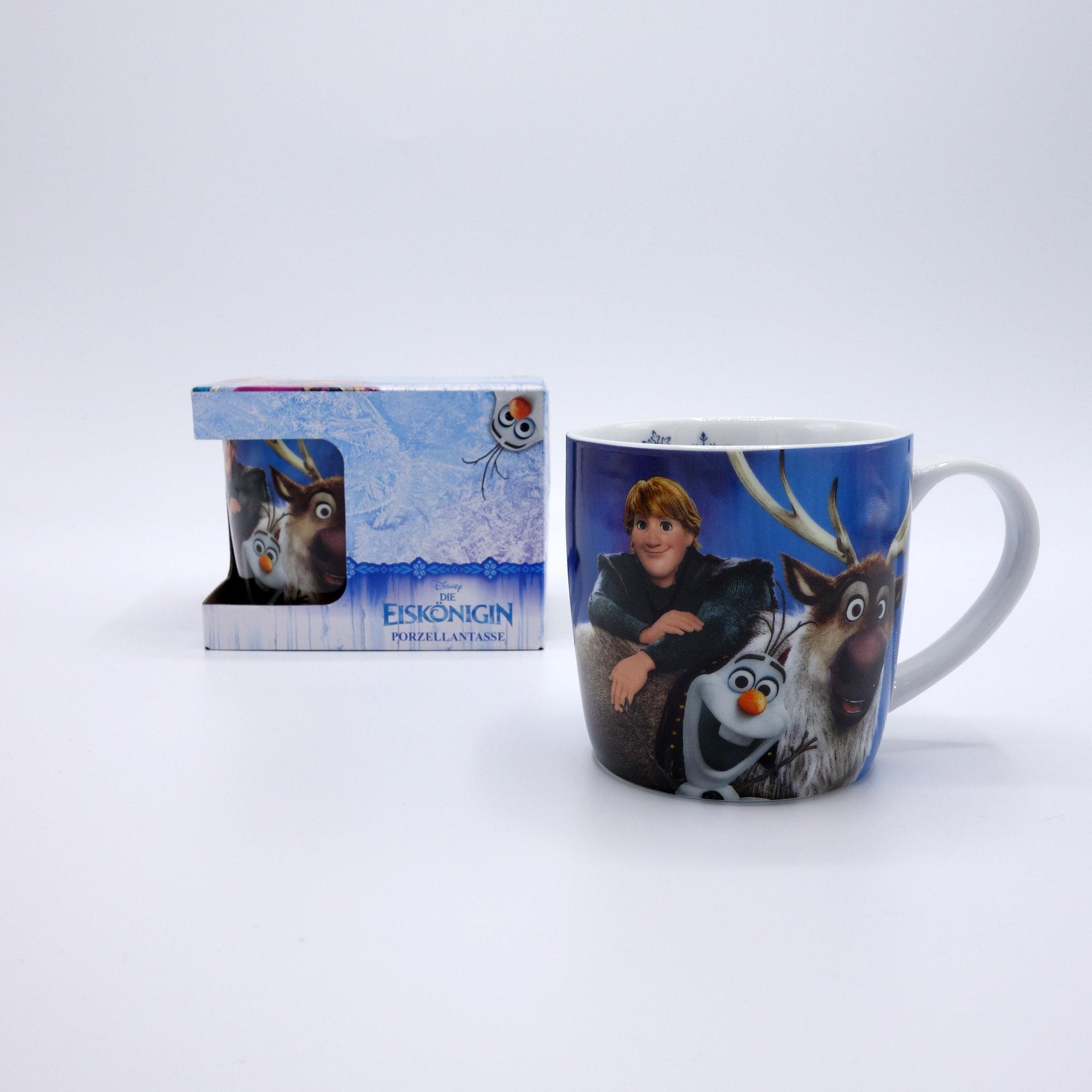 Disney Frozen Die Eiskönigin Tasse Olaf & Sven