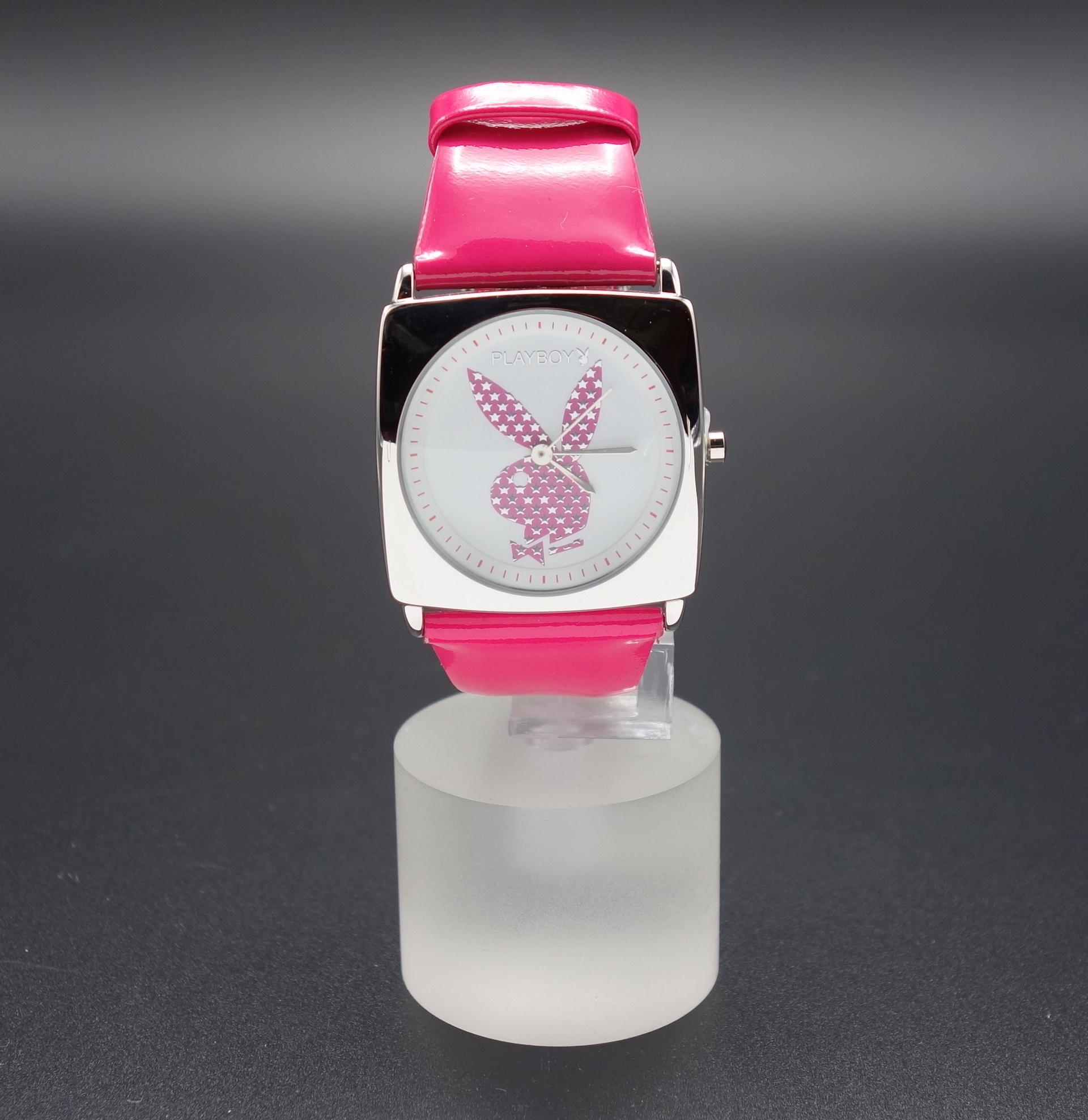 Playboy Damen Armbanduhr PBH0440WHPKB
