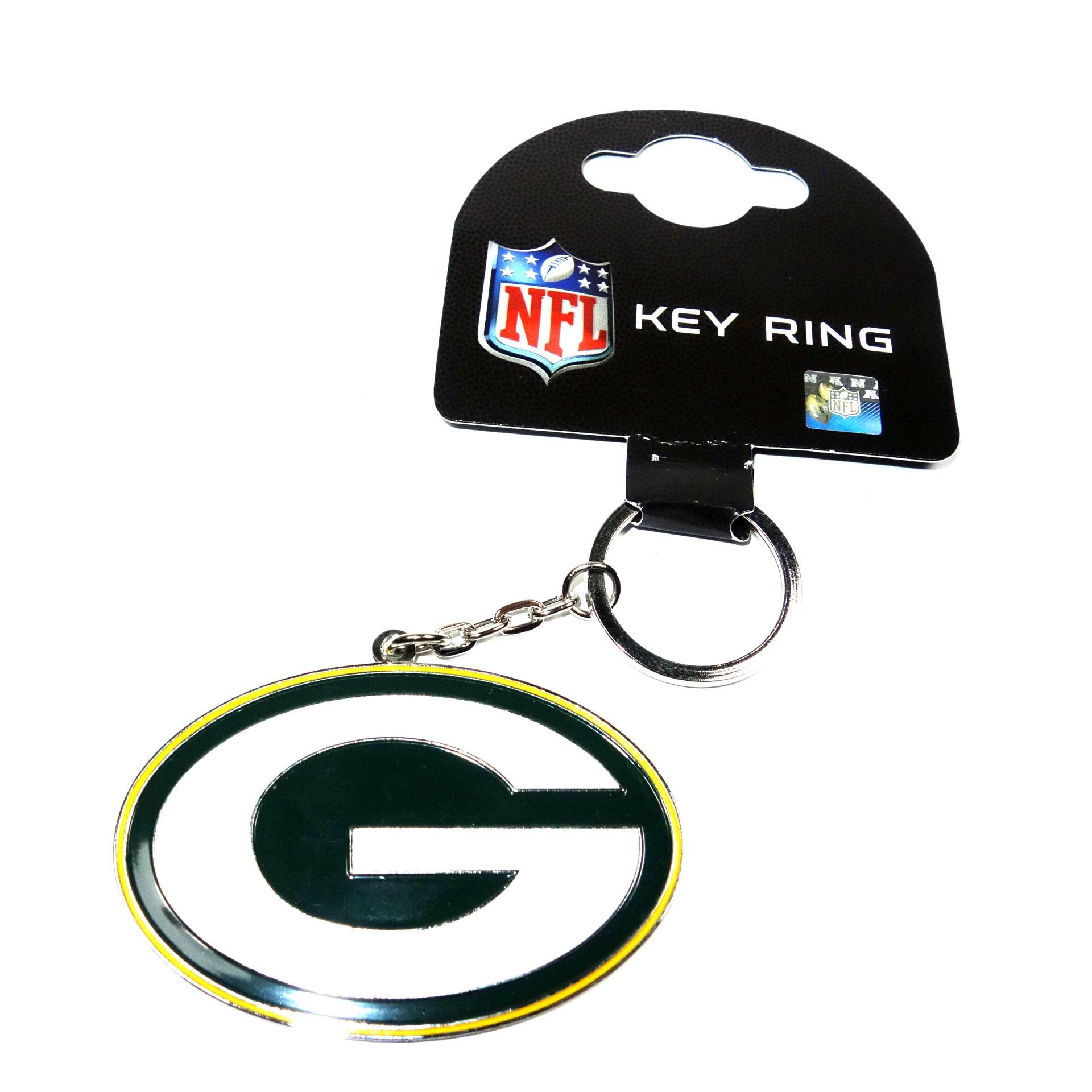 NFL Schlüsselanhänger Green Bay Packers groß