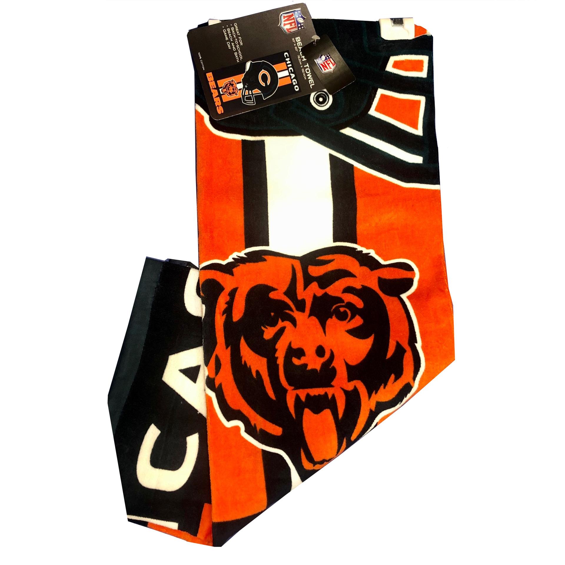 NFL Duschtuch Chicago Bears