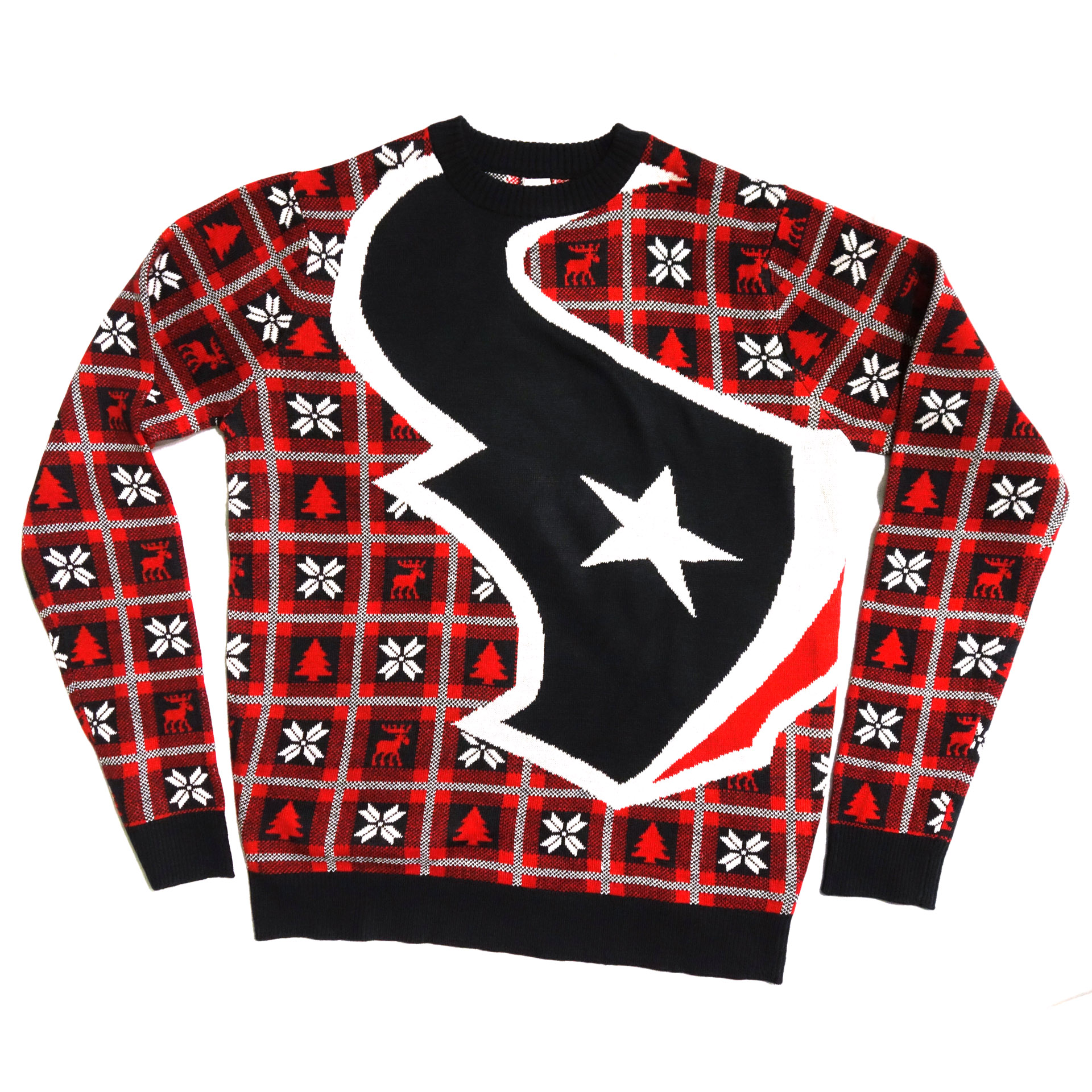 NFL Pullover Christmas Houston Texans Ugly Sweater