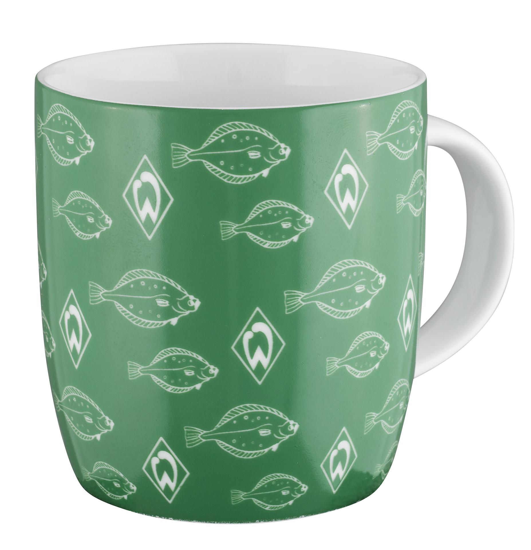 Werder Bremen Becher Tasse Schwarm