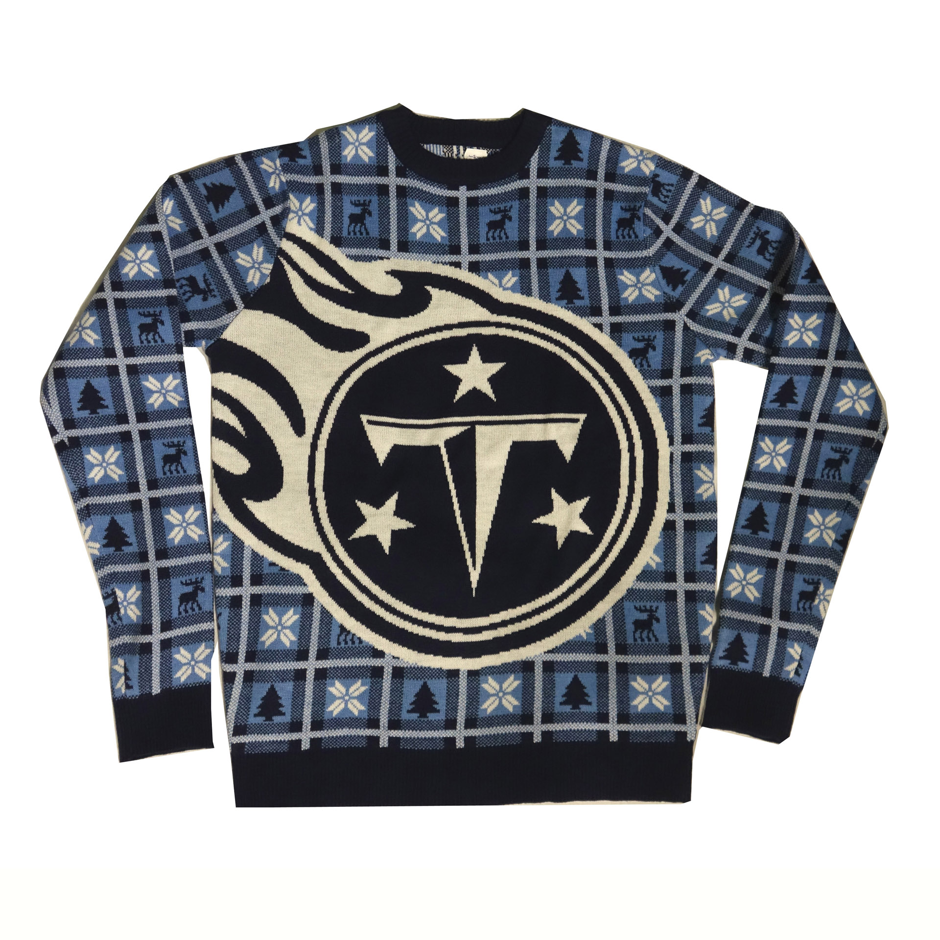 NFL Pullover Christmas Tennessee Titans Ugly Sweater