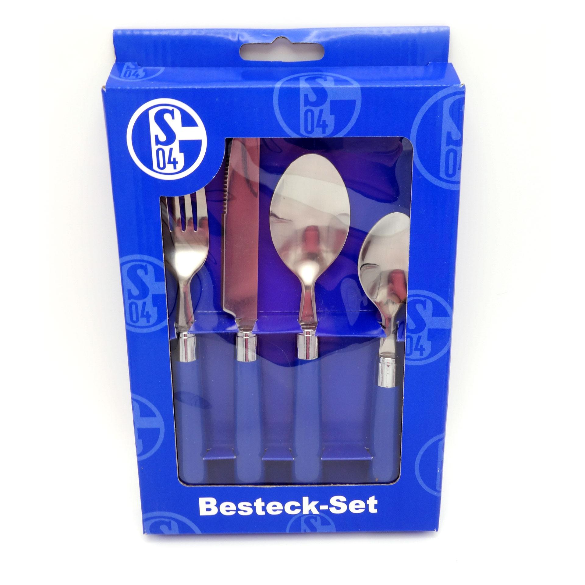 Schalke 04 Besteck Set 4 Teilig