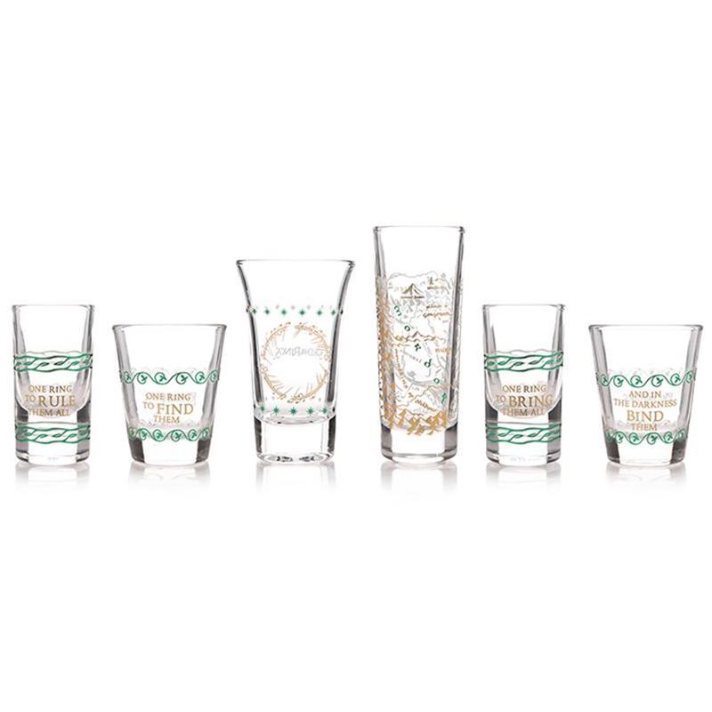 Der Herr der Ringe Schnapsgläser 6-er Set, Set of six collectable Glasses
